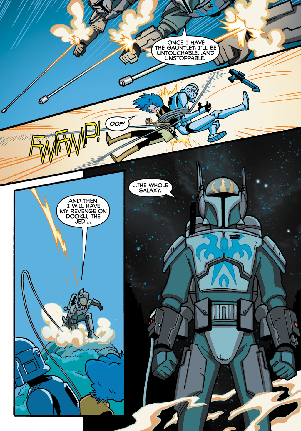 Read online Star Wars: The Clone Wars - Defenders of the Lost Temple comic -  Issue # Full - 49