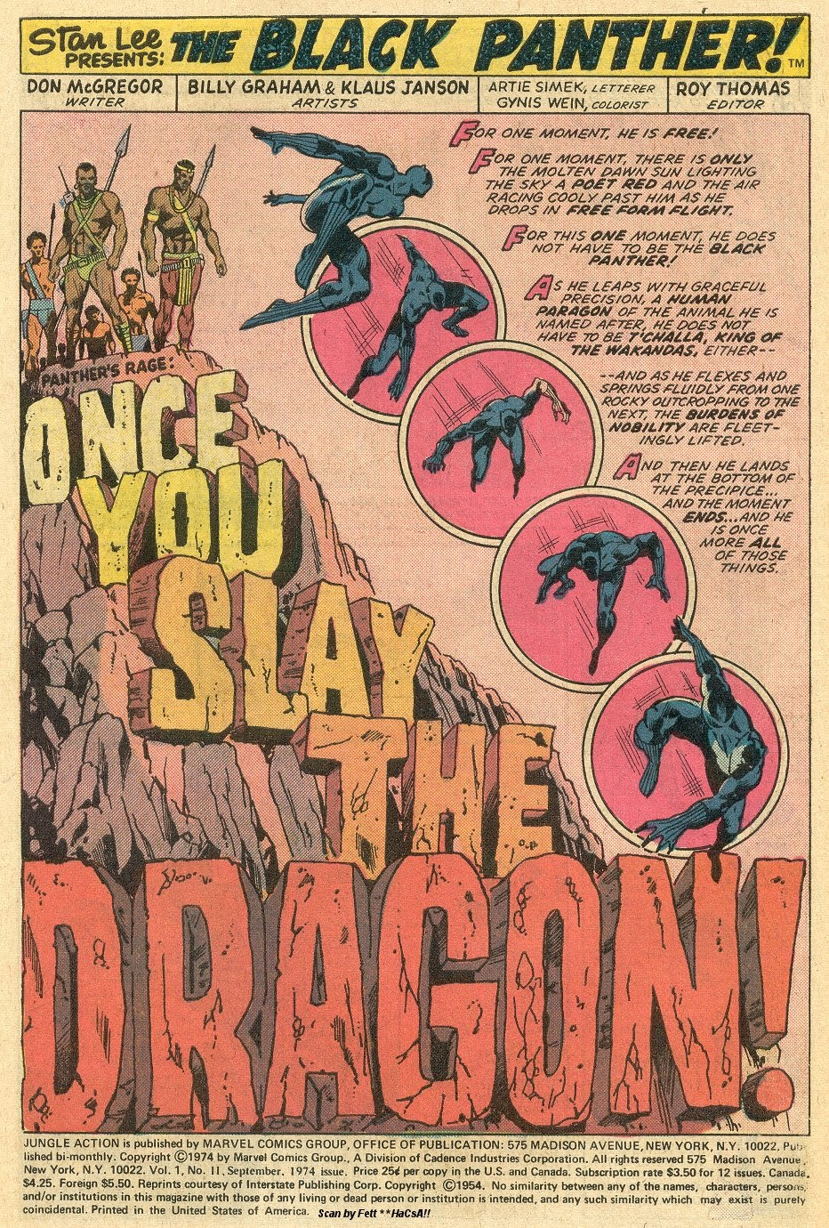 Jungle Action (1972) issue 11 - Page 3