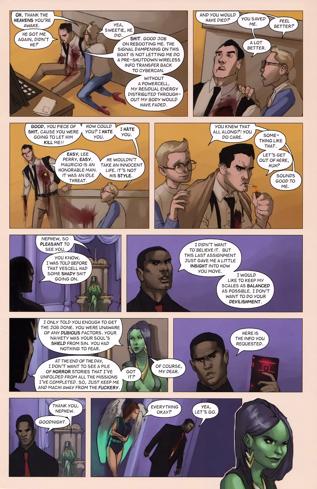 Read online Vescell comic -  Issue #6 - 29