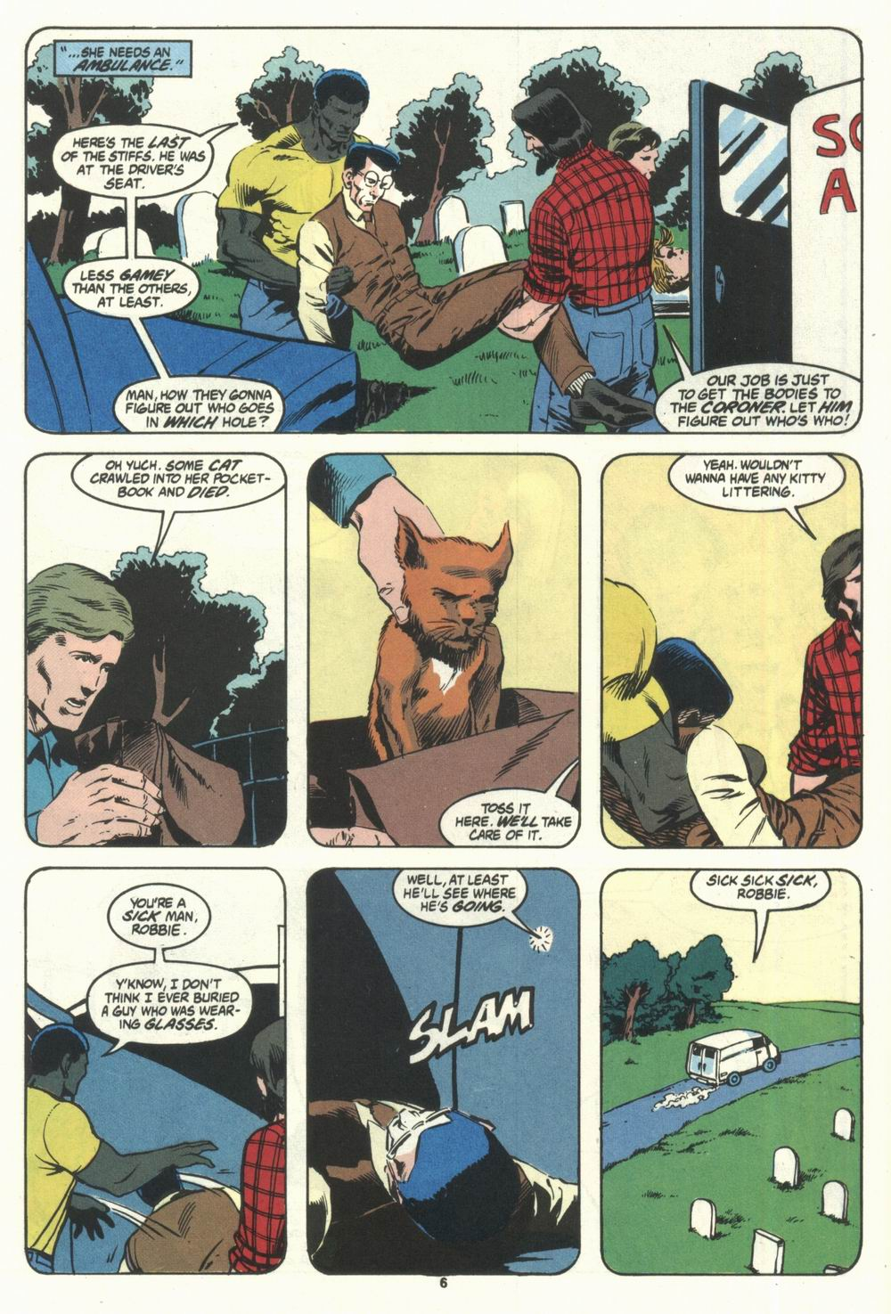 Read online Justice (1986) comic -  Issue #28 - 8