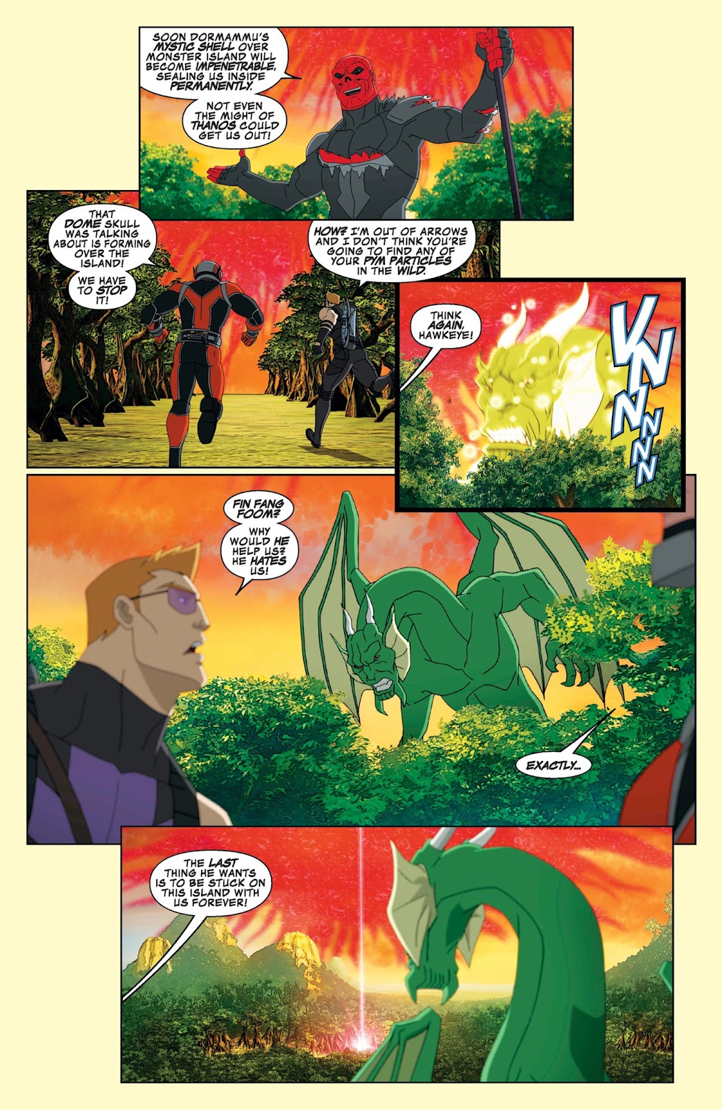 Read online Marvel Universe Avengers Assemble Season 2 comic -  Issue #9 - 23