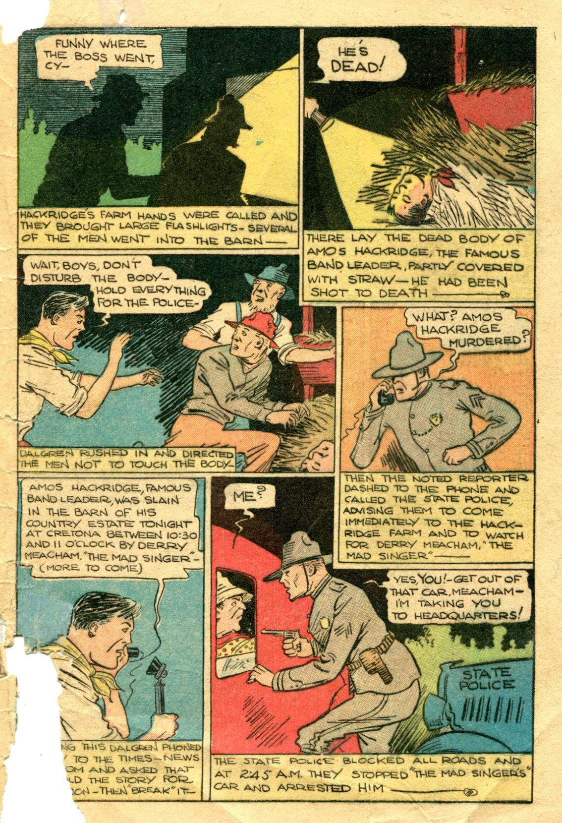 Read online Shadow Comics comic -  Issue #75 - 48