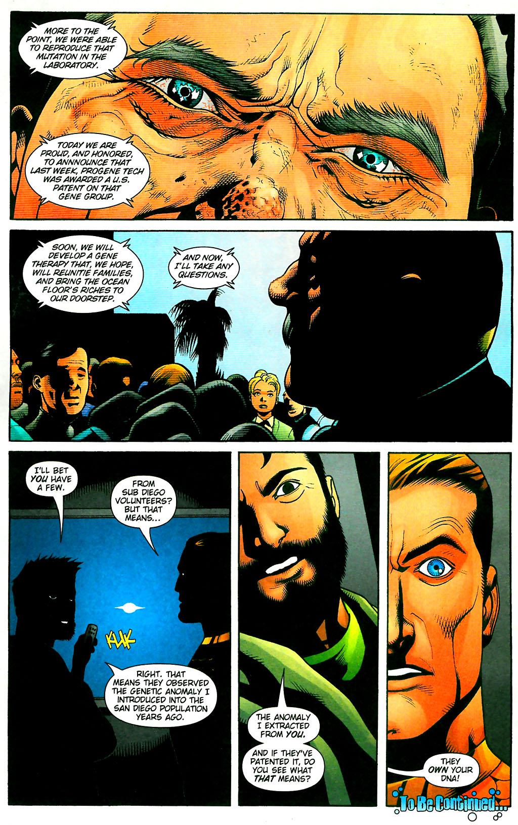 Read online Aquaman (2003) comic -  Issue #28 - 23