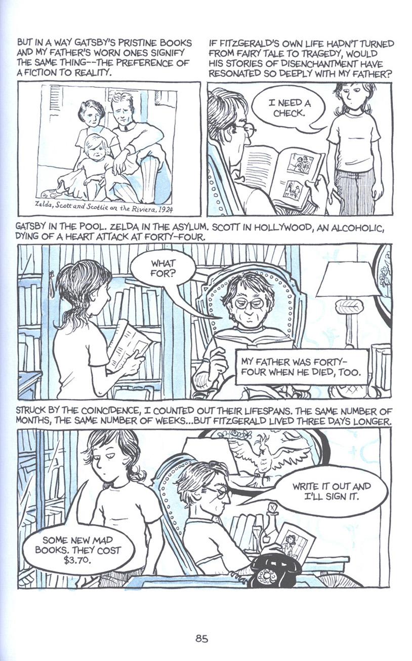 Read online Fun Home: A Family Tragicomic comic -  Issue # TPB - 92