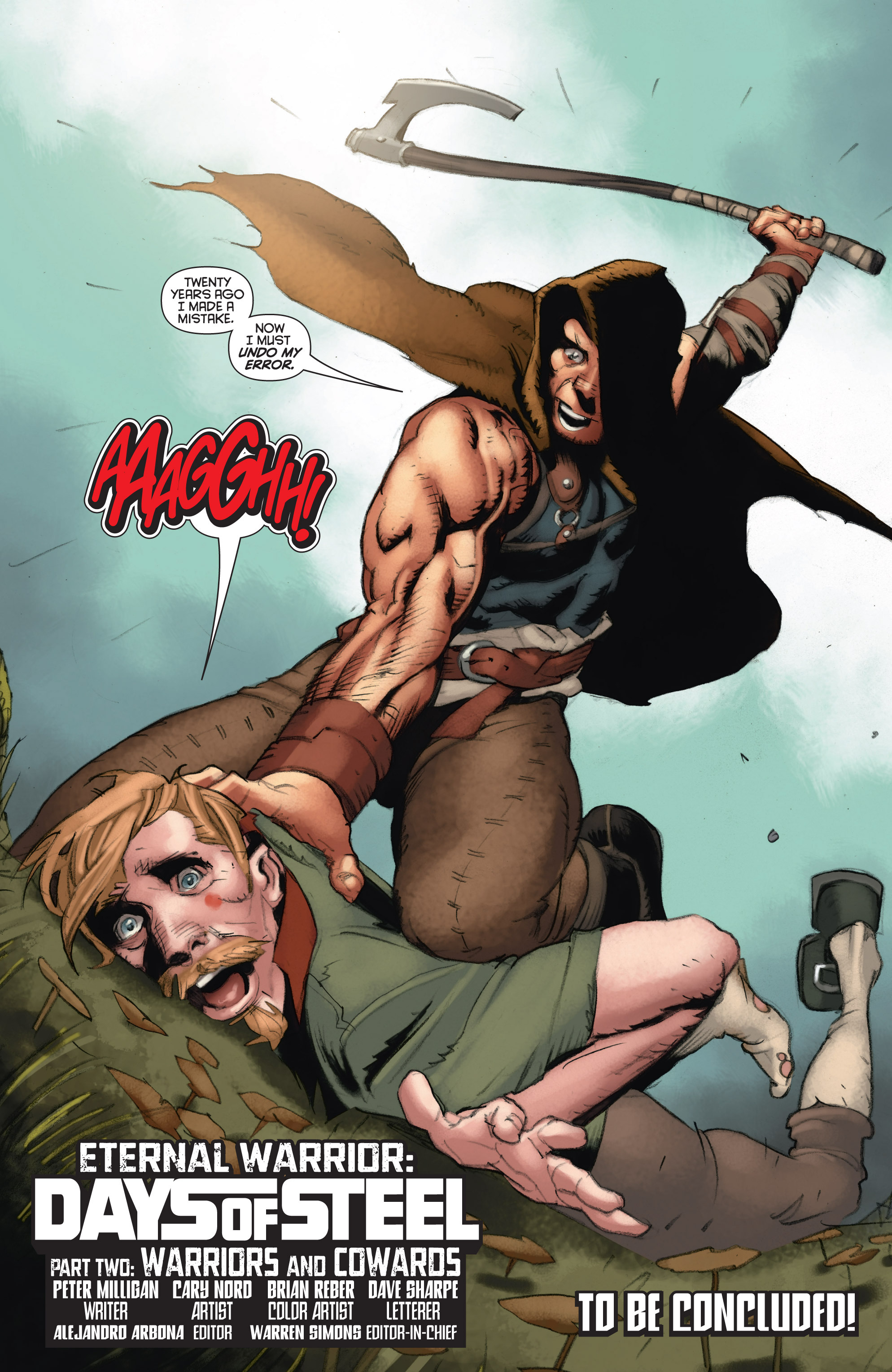 Read online Eternal Warrior: Days of Steel comic -  Issue #2 - 24