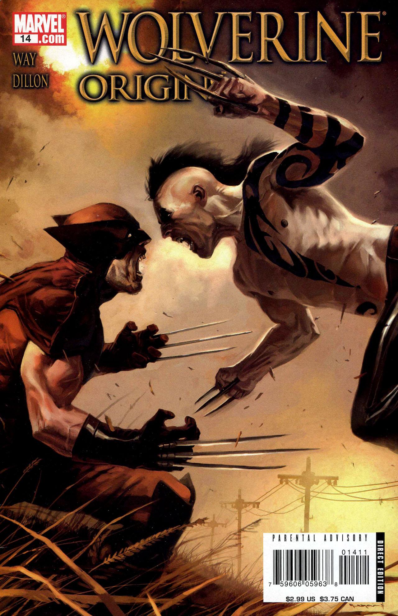 Read online Wolverine: Origins comic -  Issue #14 - 1