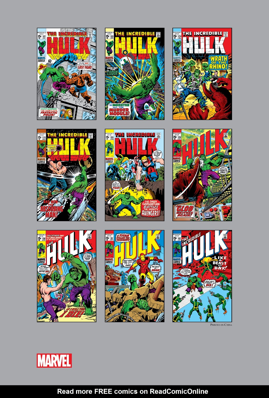 Read online Marvel Masterworks: The Incredible Hulk comic -  Issue # TPB 6 (Part 3) - 78
