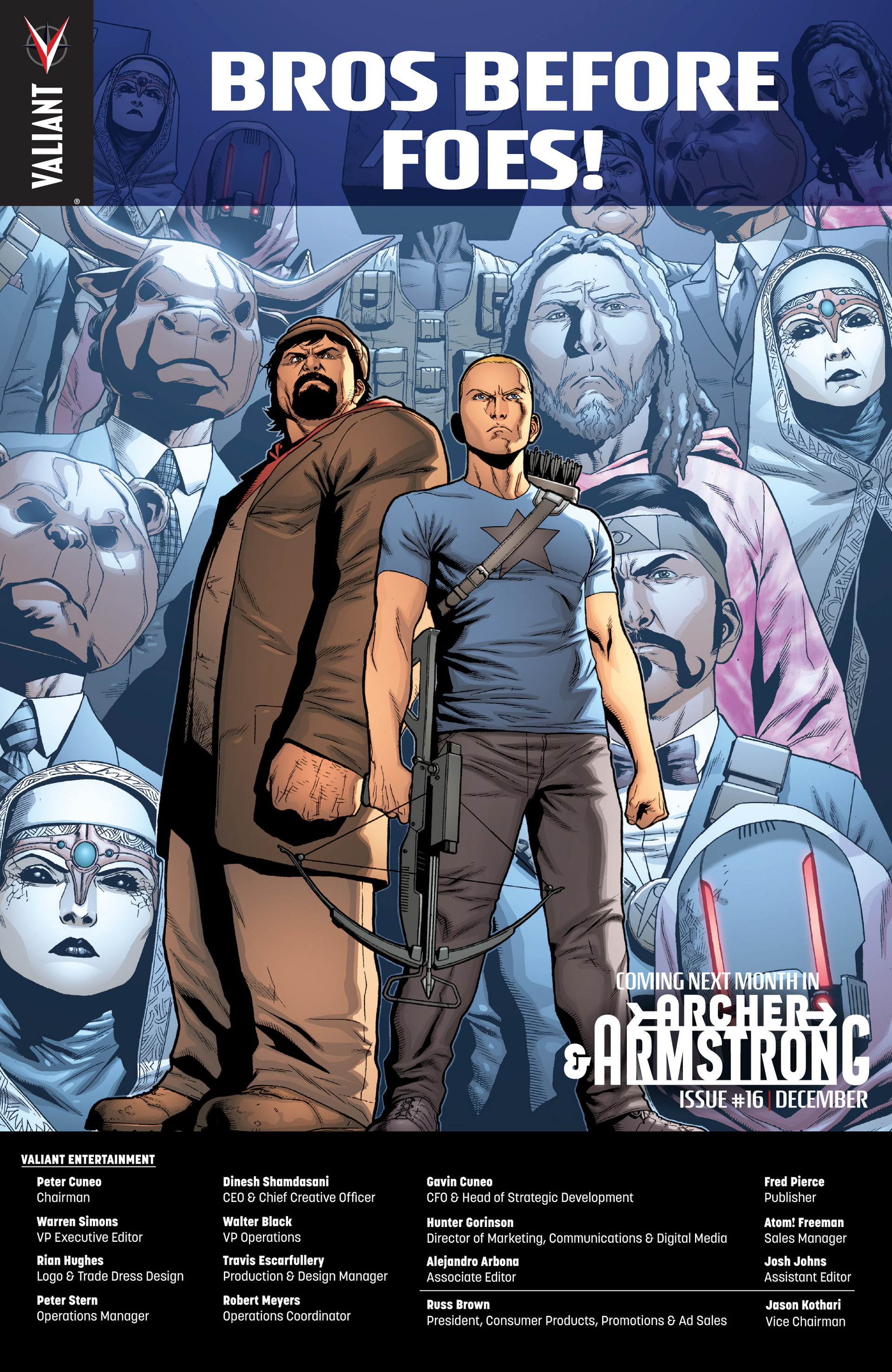 Read online Archer and Armstrong comic -  Issue #15 - 26