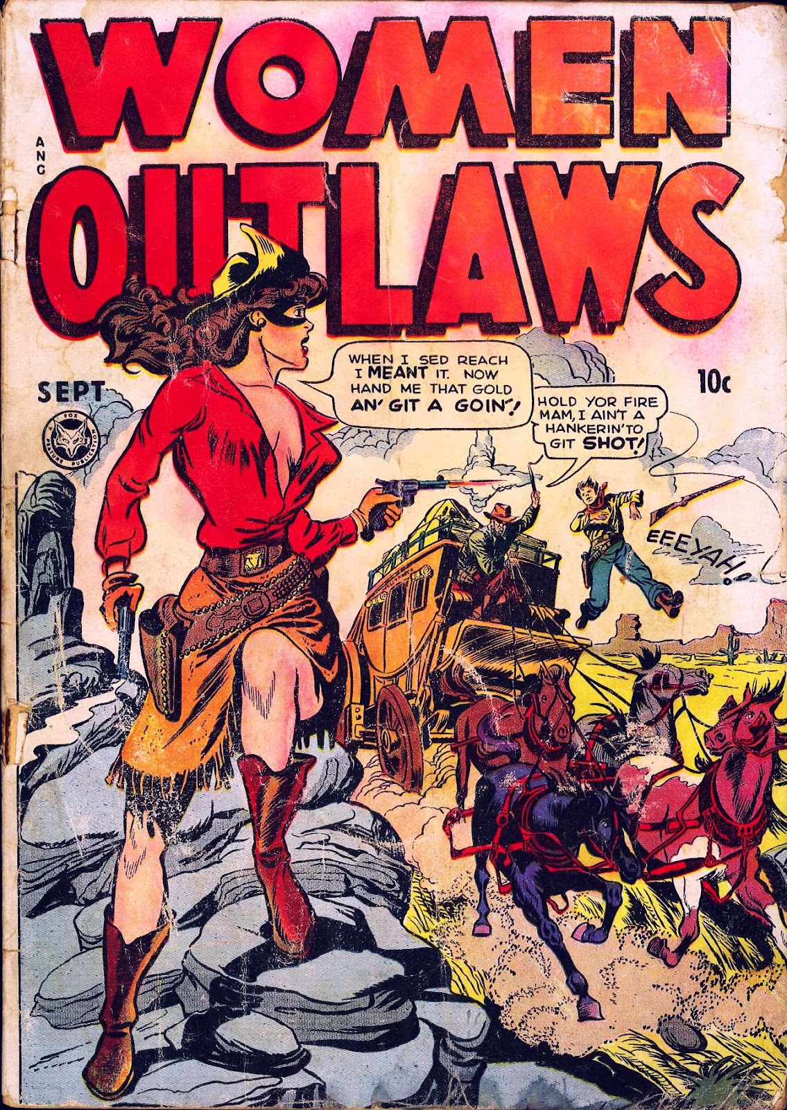 Read online Women Outlaws comic -  Issue #2 - 1