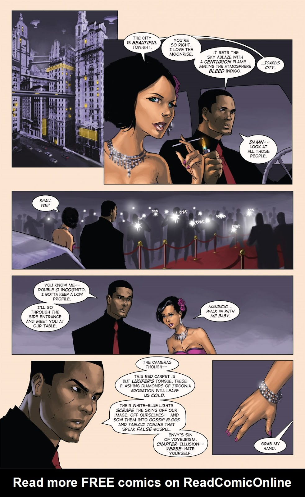 Read online Vescell comic -  Issue #4 - 16