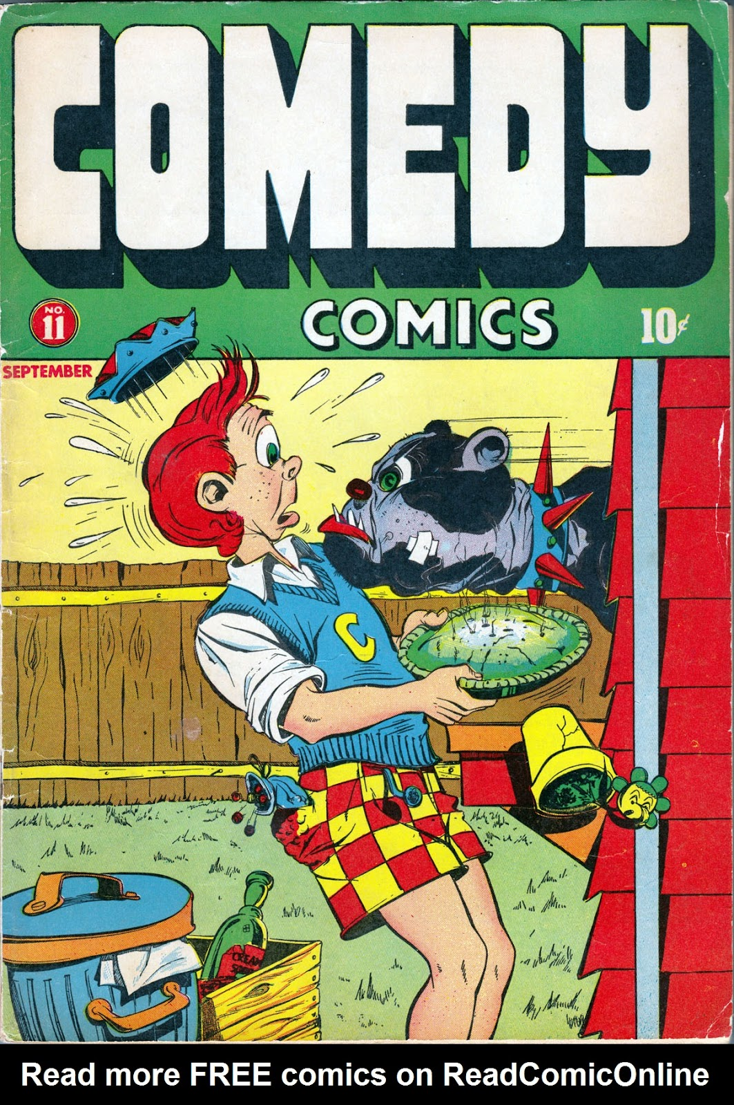 Read online Comedy Comics (1942) comic -  Issue #11 - 1