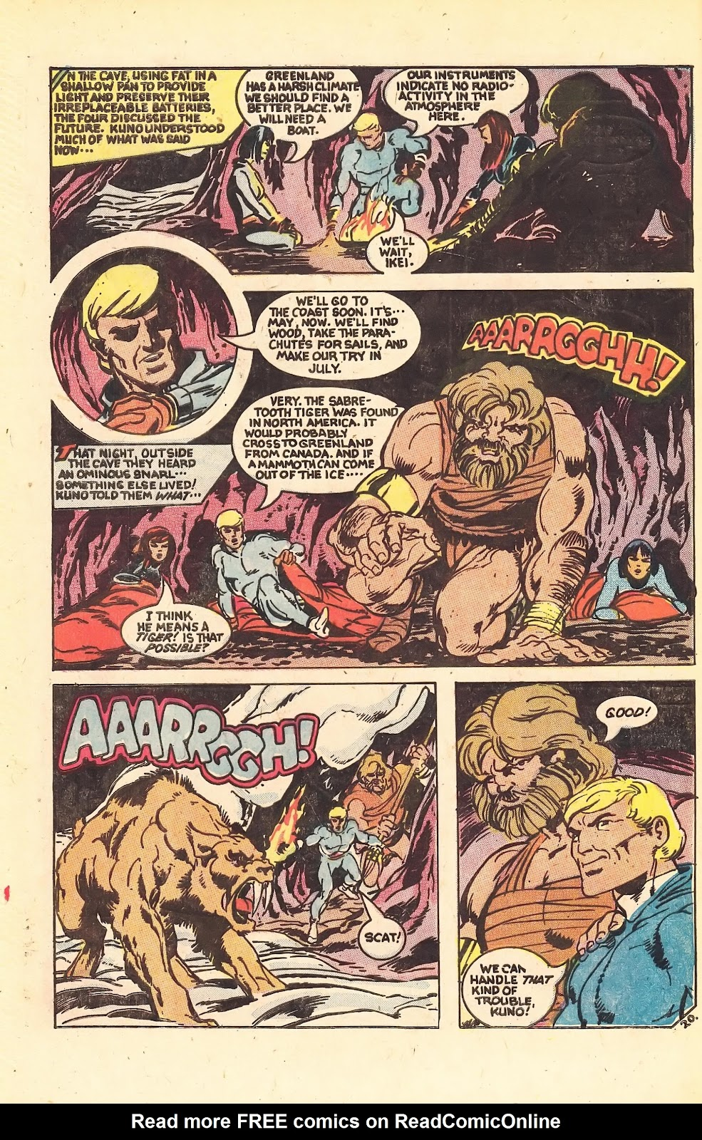 Read online Doomsday   1 (1975) comic -  Issue #1 - 28