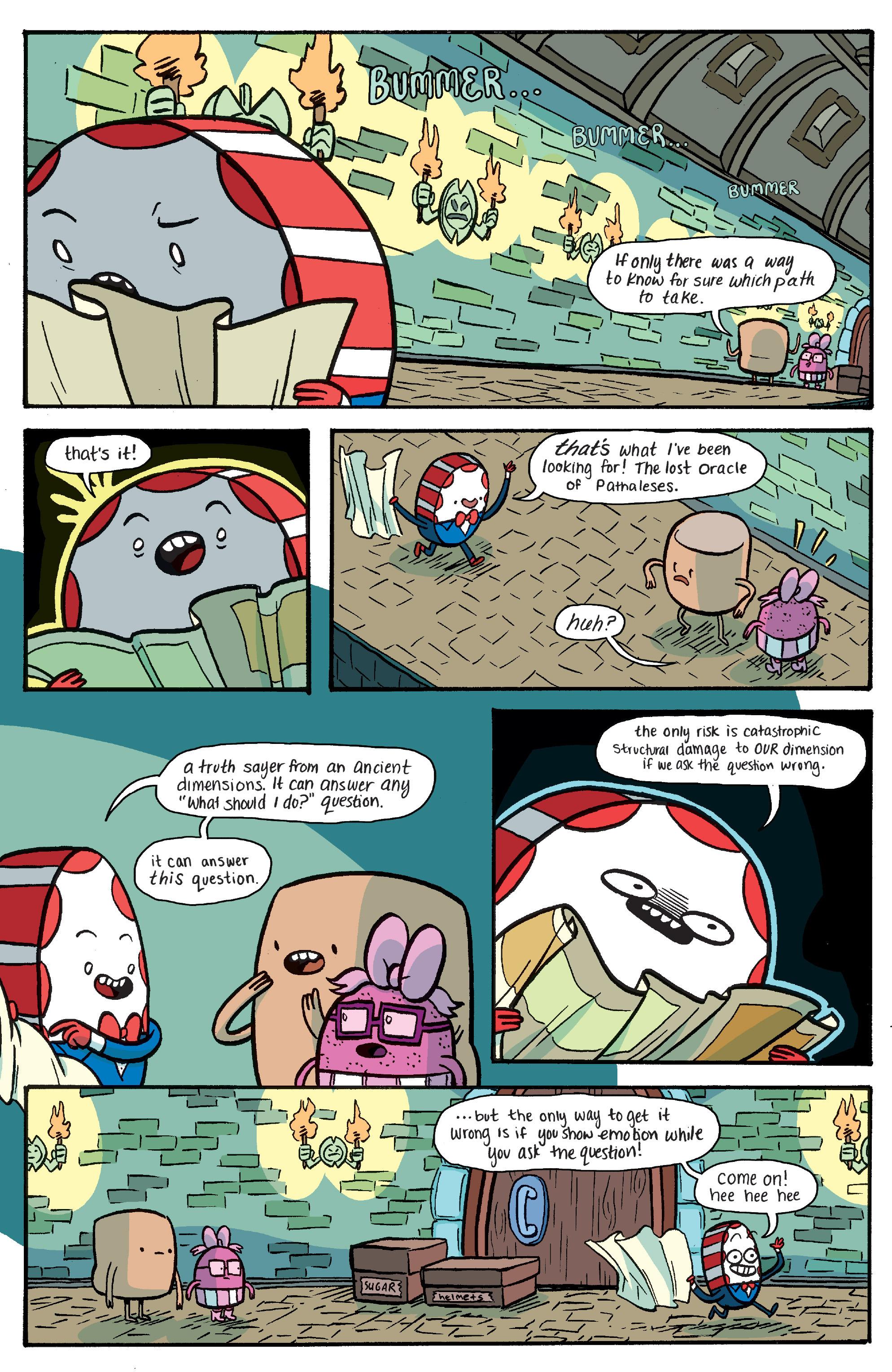 Read online Adventure Time: Banana Guard Academ comic -  Issue #4 - 19