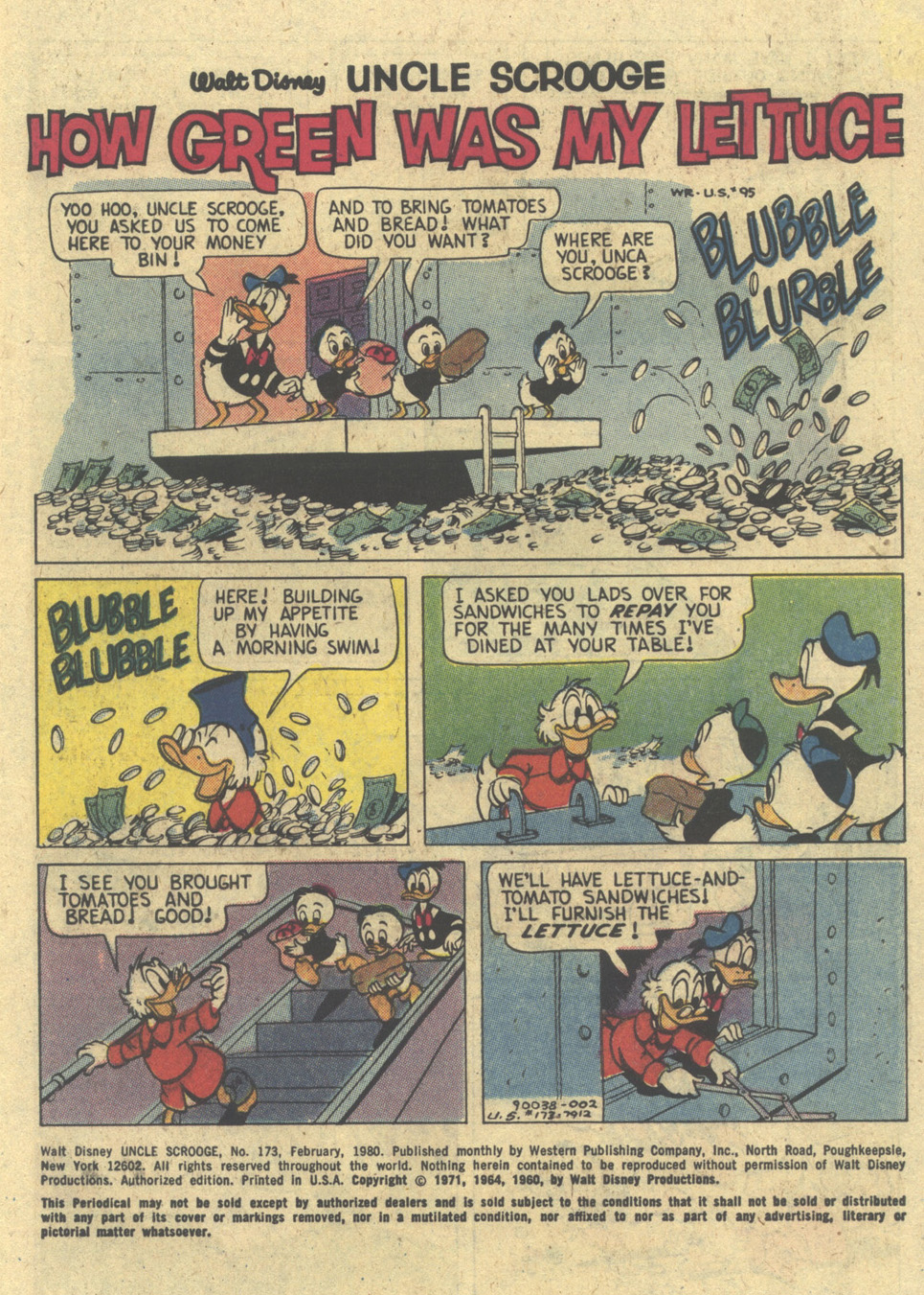 Read online Uncle Scrooge (1953) comic -  Issue #173 - 3