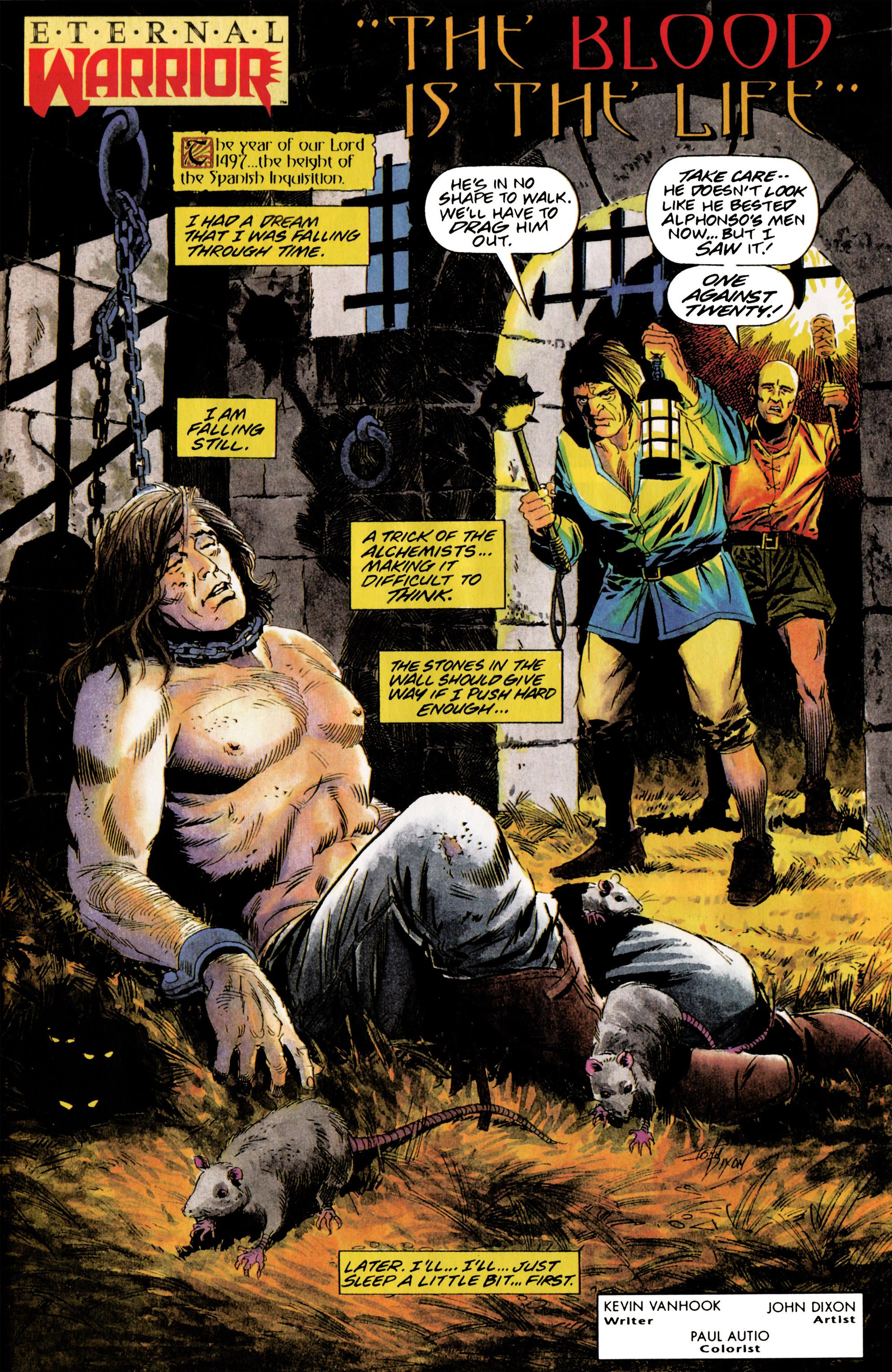 Read online Eternal Warrior (1992) comic -  Issue #5 - 2