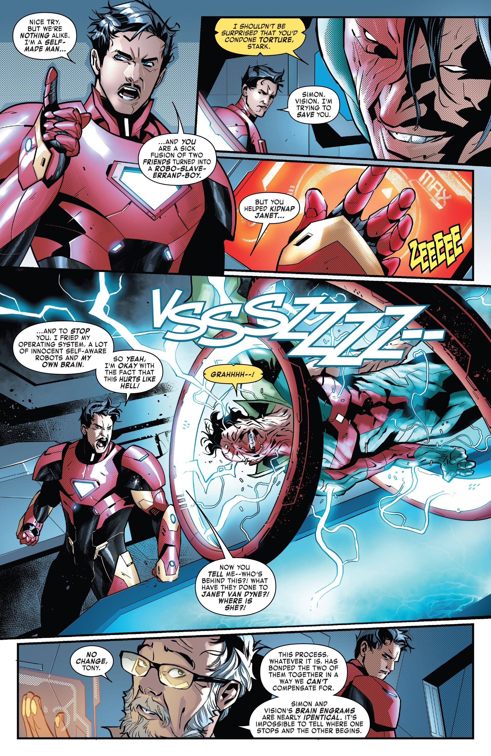 Read online Tony Stark: Iron Man comic -  Issue #16 - 6