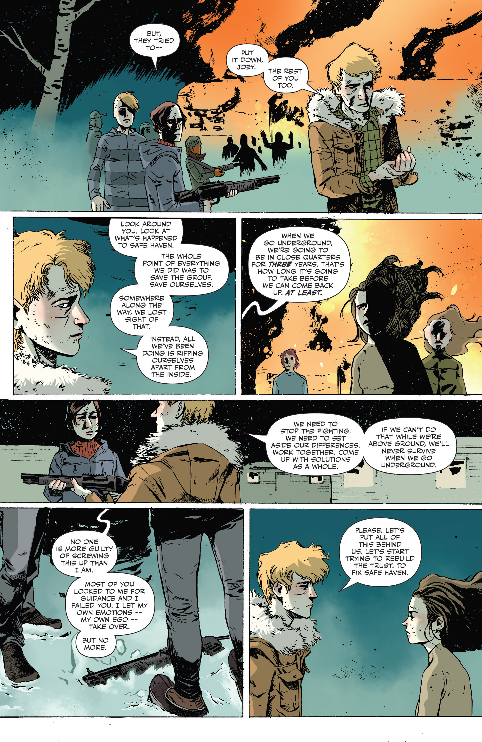 Read online Sheltered comic -  Issue #9 - 23