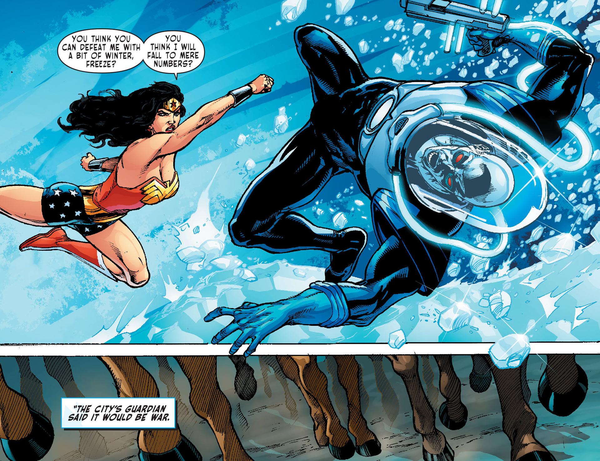 Read online Sensation Comics Featuring Wonder Woman comic -  Issue #1 - 21
