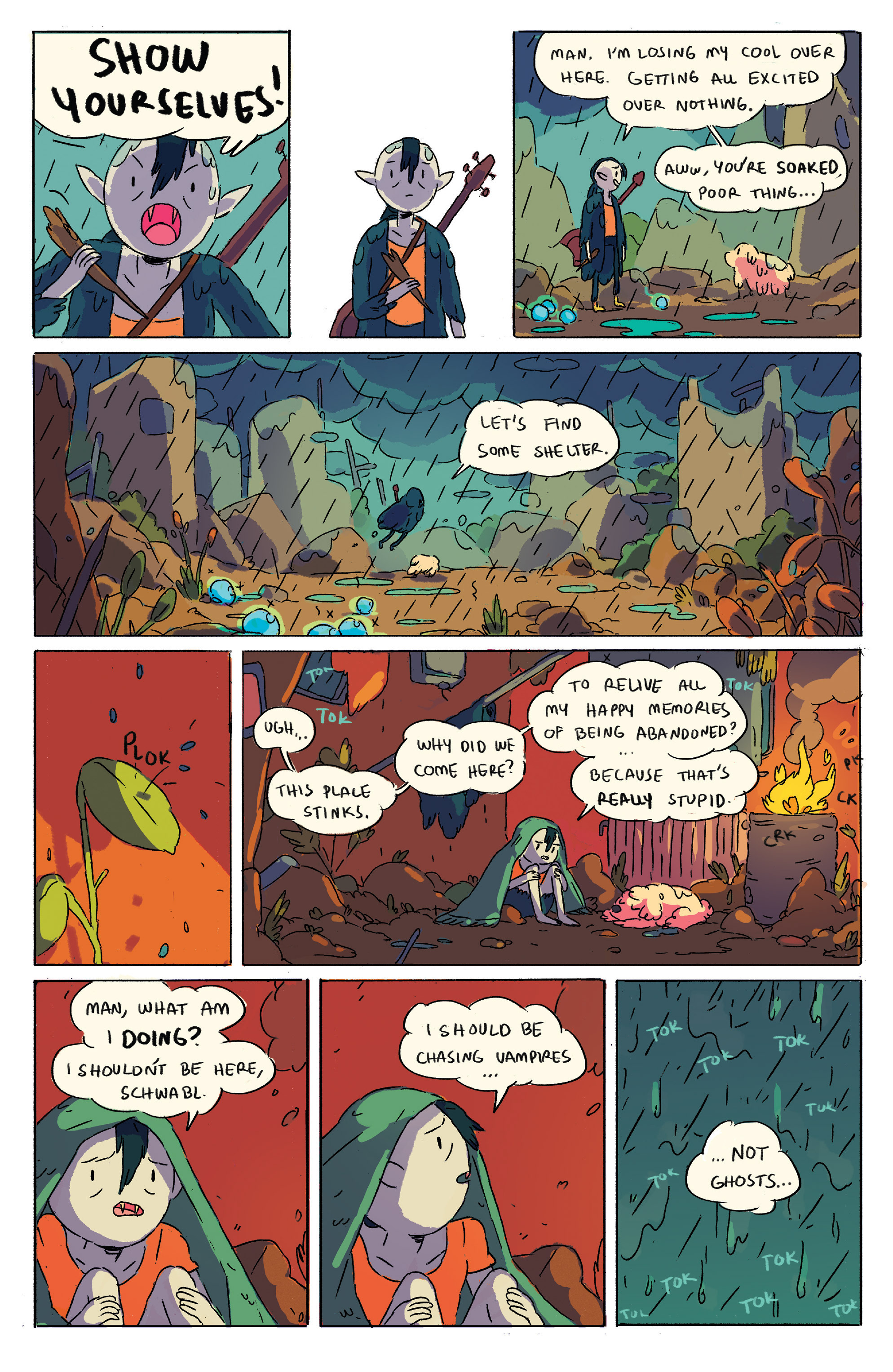 Read online Adventure Time comic -  Issue # _2015 Spoooktacular - 6
