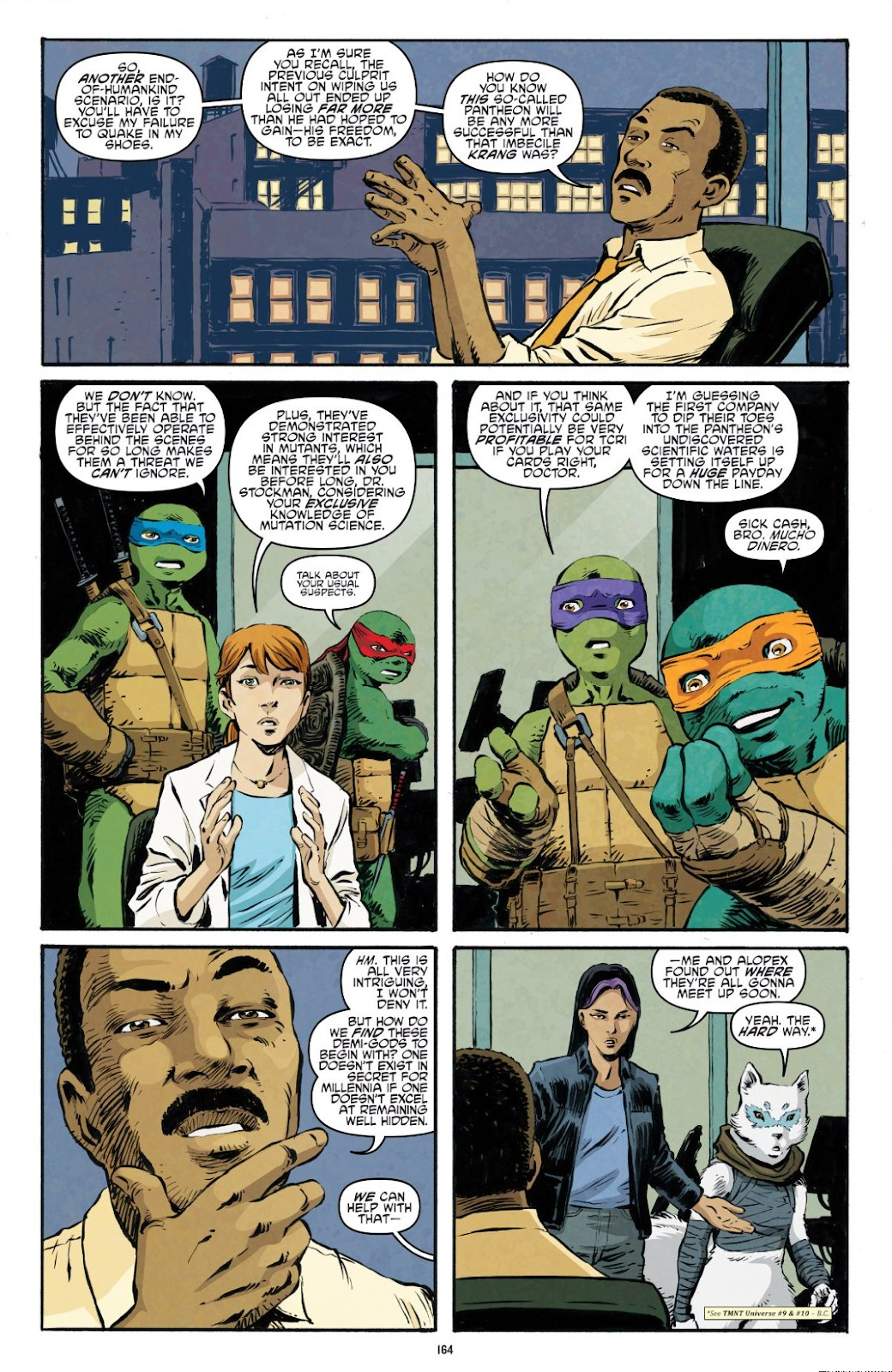 Read online Teenage Mutant Ninja Turtles: The IDW Collection comic -  Issue # TPB 9 (Part 2) - 63
