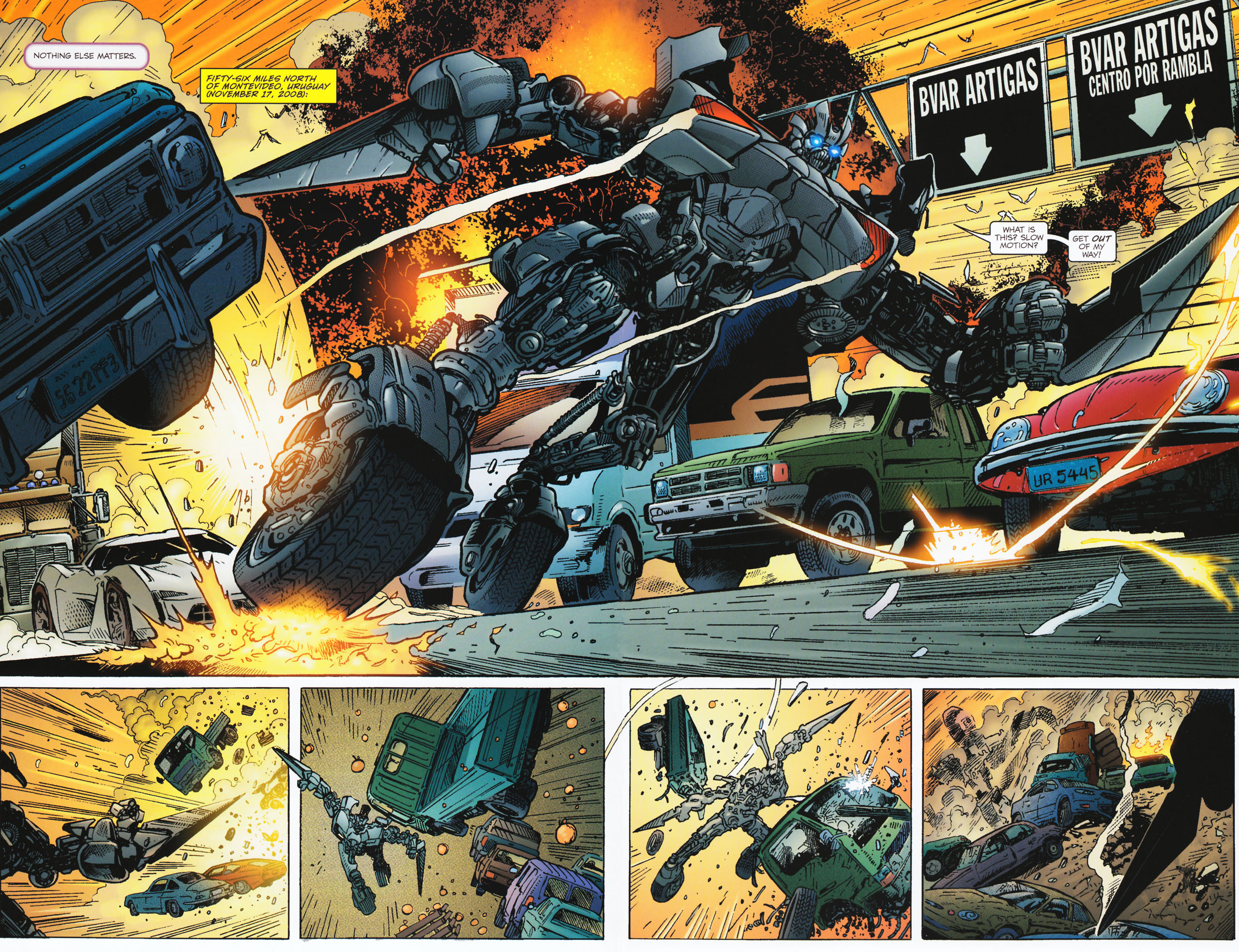 Read online Transformers: Tales of The Fallen comic -  Issue #2 - 4