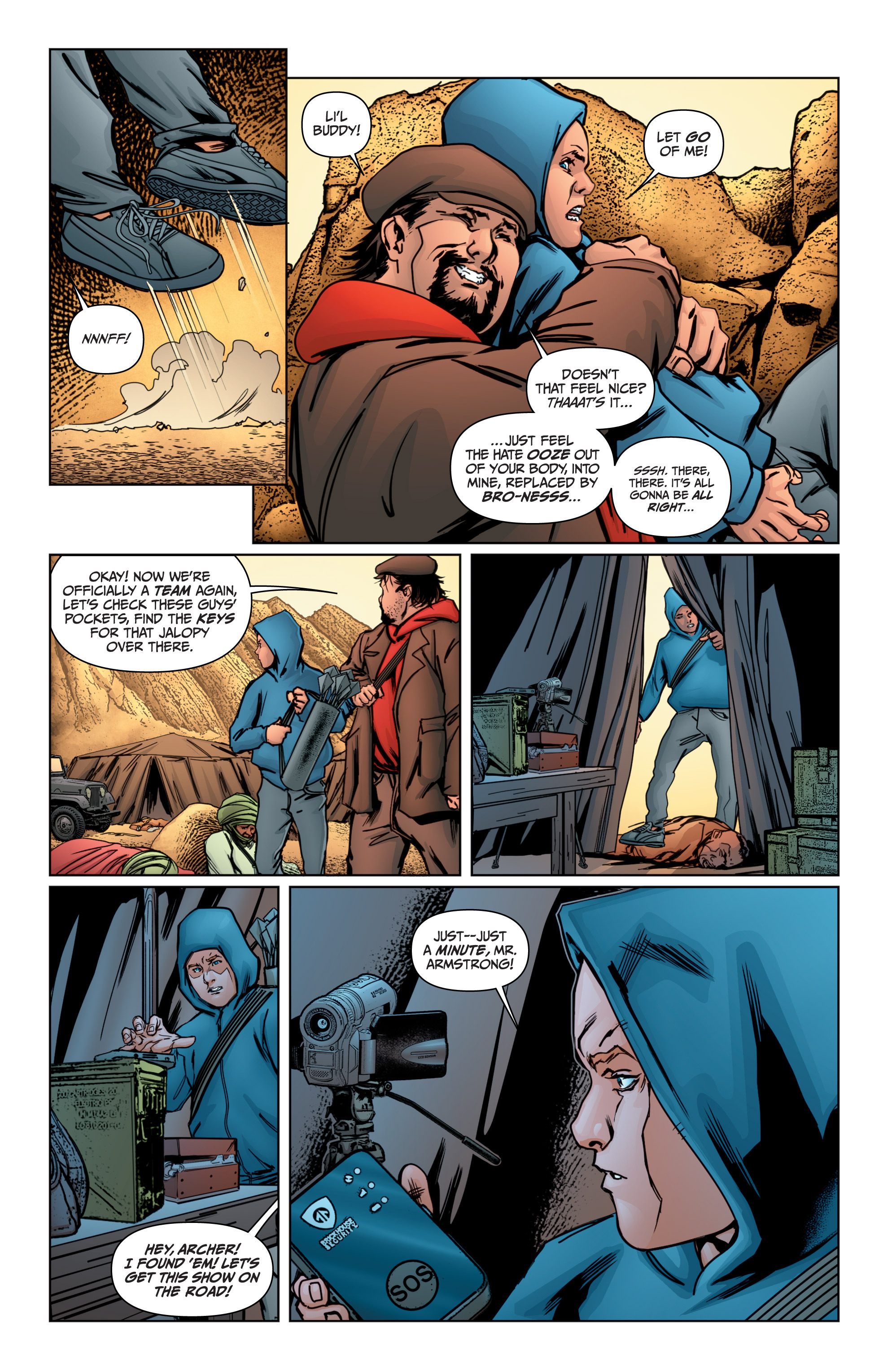 Read online Archer and Armstrong comic -  Issue #Archer and Armstrong _TPB 4 - 69