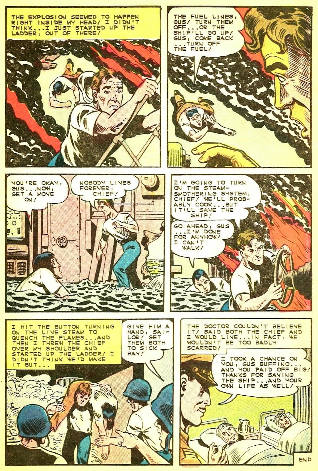 Read online Fightin' Navy comic -  Issue #124 - 12