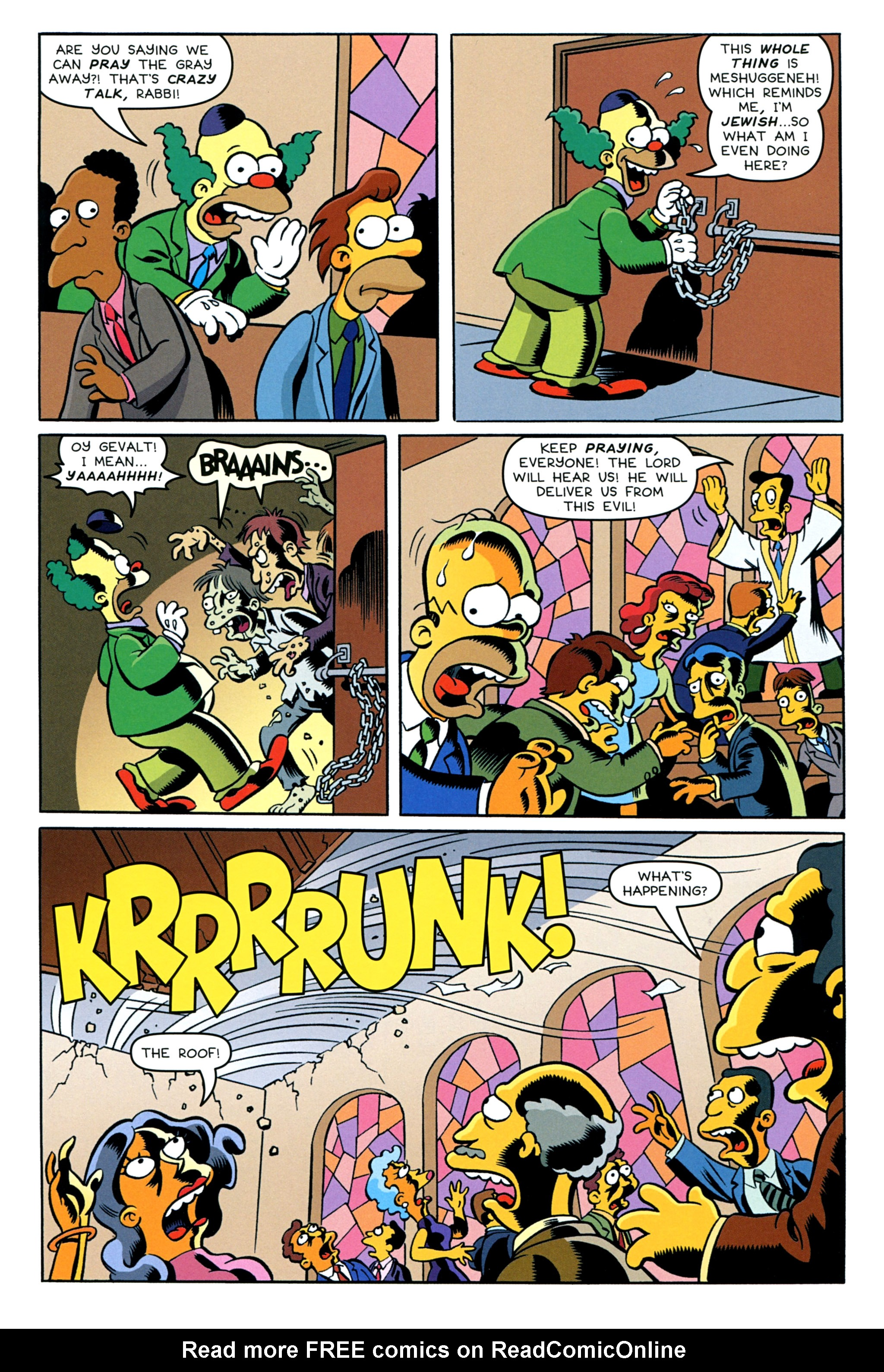 Read online Treehouse of Horror comic -  Issue #20 - 4