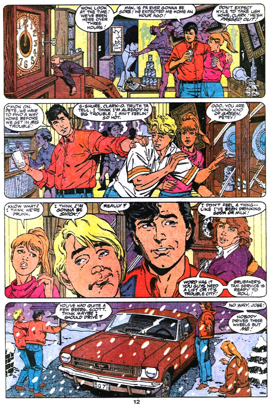 Read online Adventures of Superman (1987) comic -  Issue #474 - 13