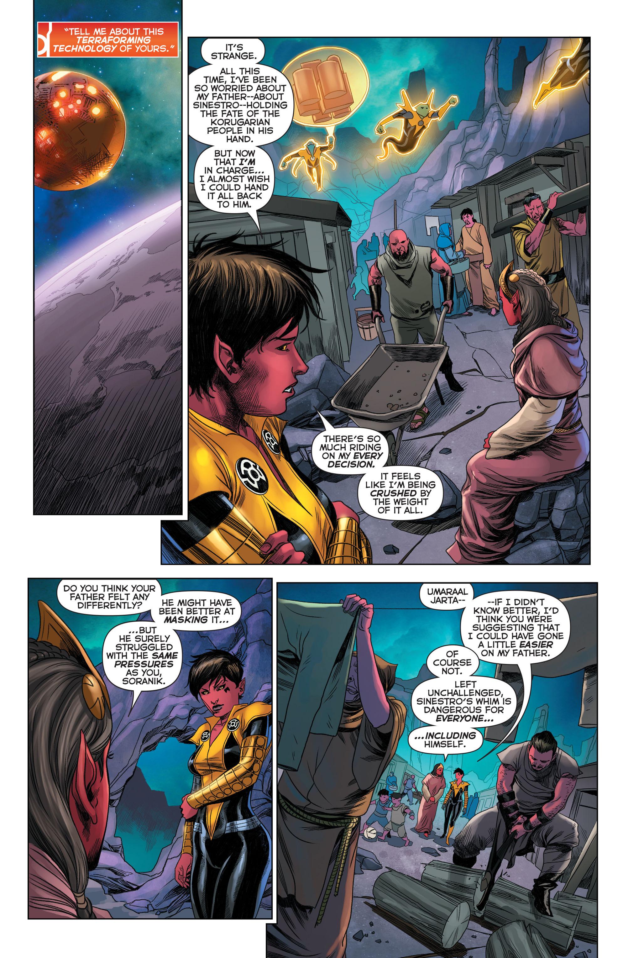 Read online Sinestro comic -  Issue #22 - 8