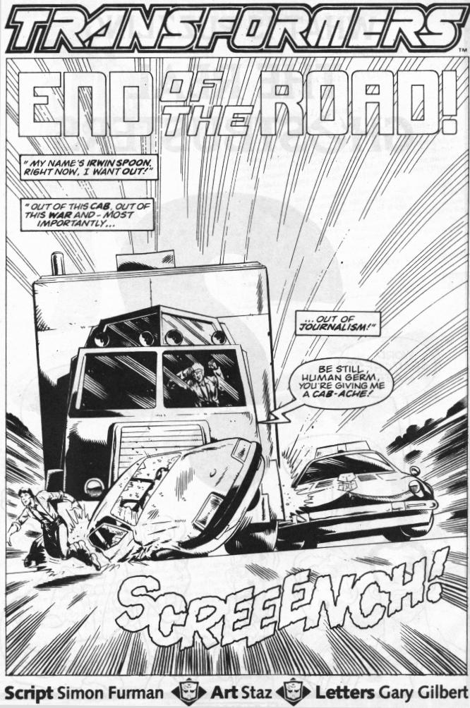 The Transformers (UK) 289 Page 2