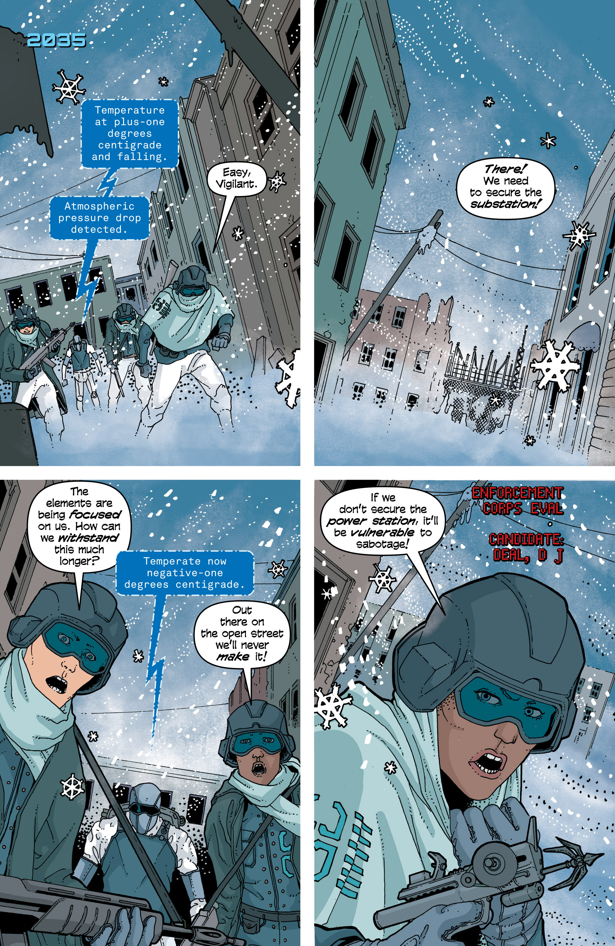 Read online Snowfall comic -  Issue #7 - 3