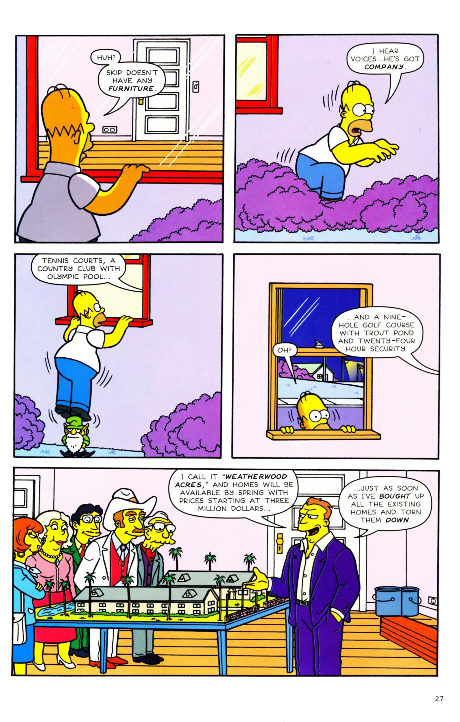 Read online Simpsons Comics comic -  Issue #158 - 23