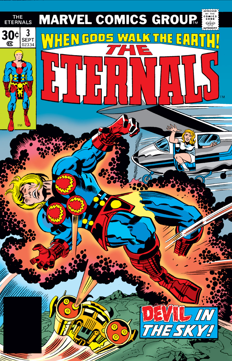 The Eternals issue 3 - Page 1