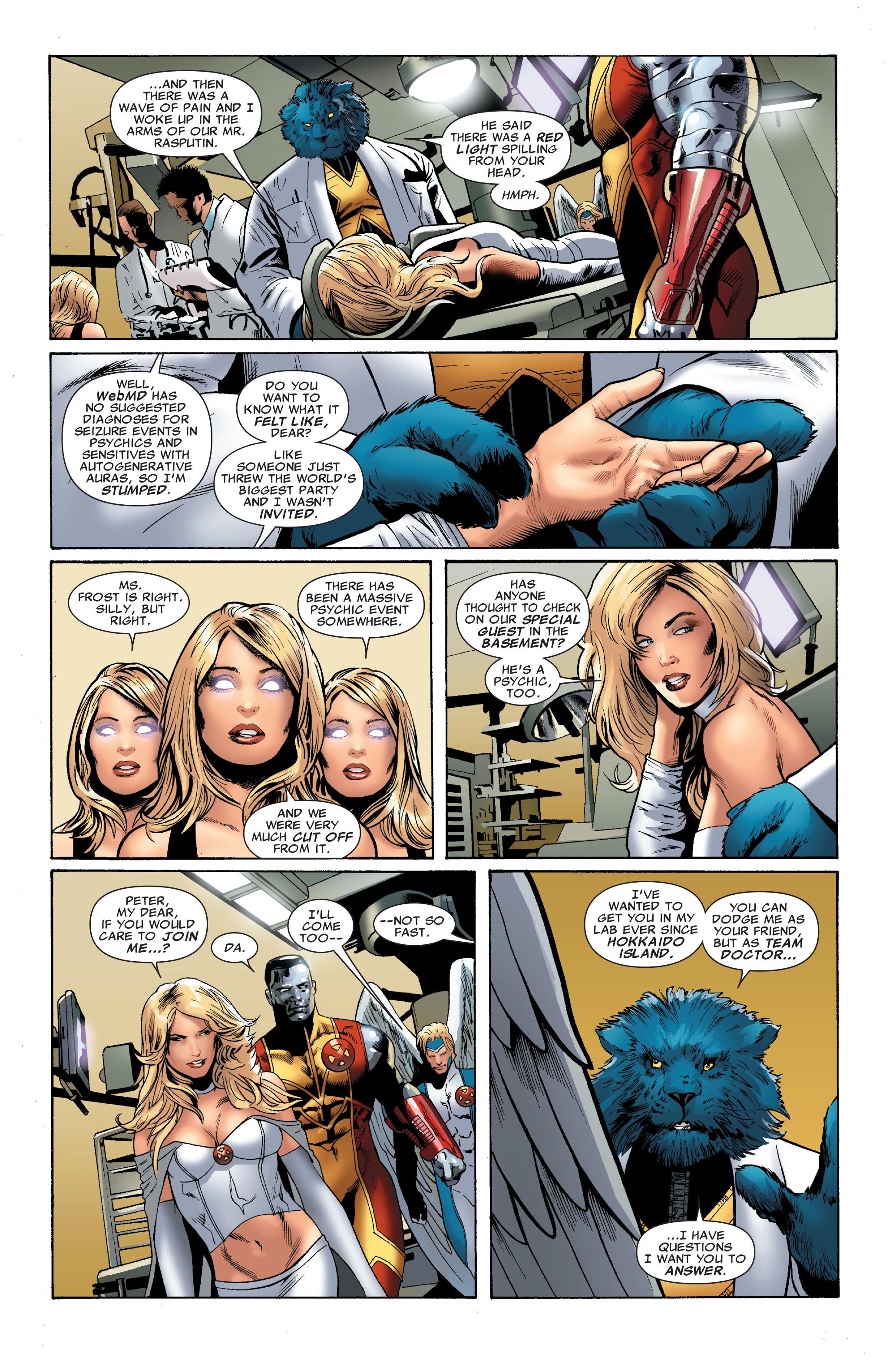 Read online Uncanny X-Men (1963) comic -  Issue #508 - 23