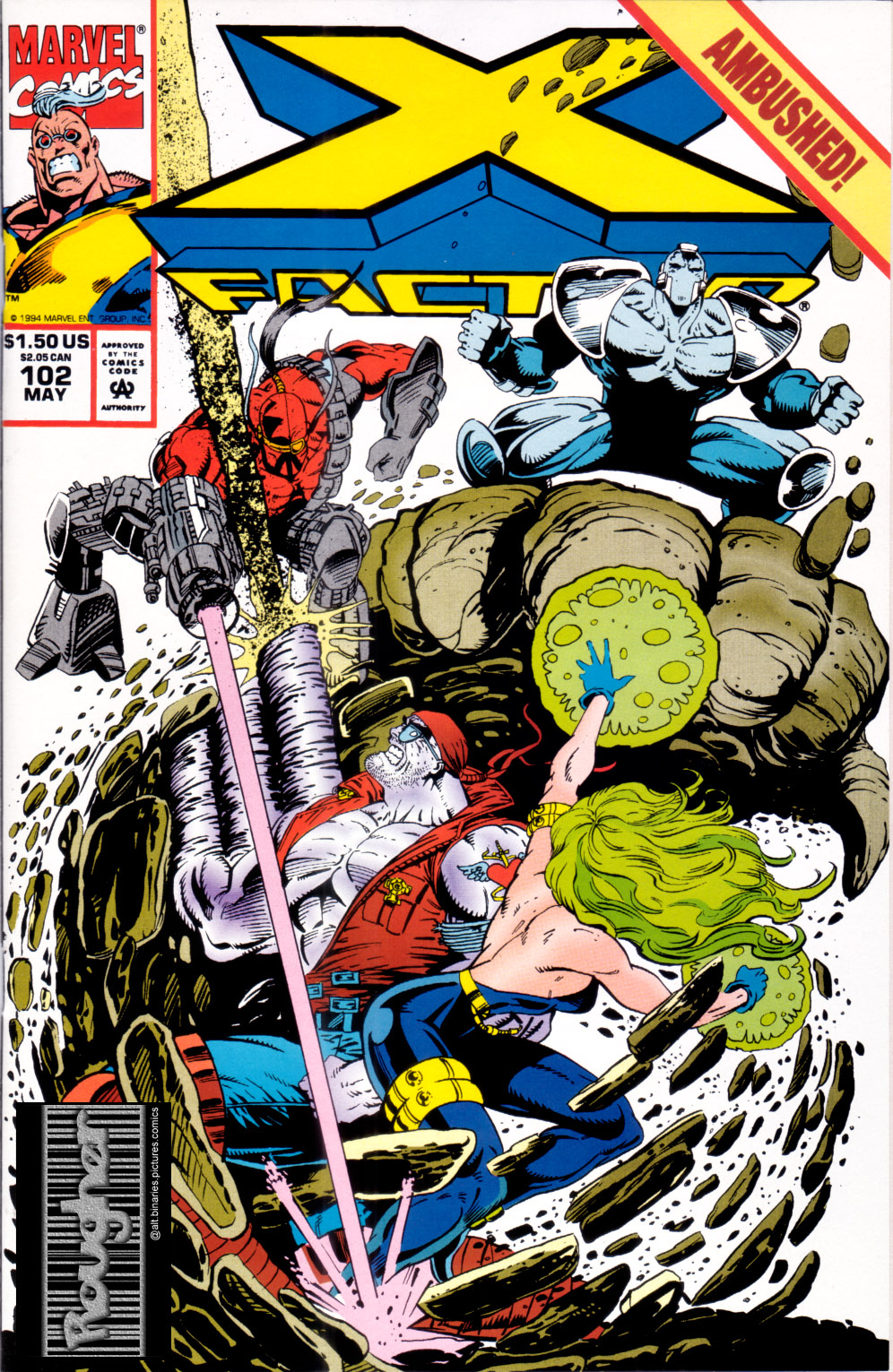 Read online X-Factor (1986) comic -  Issue #102 - 1