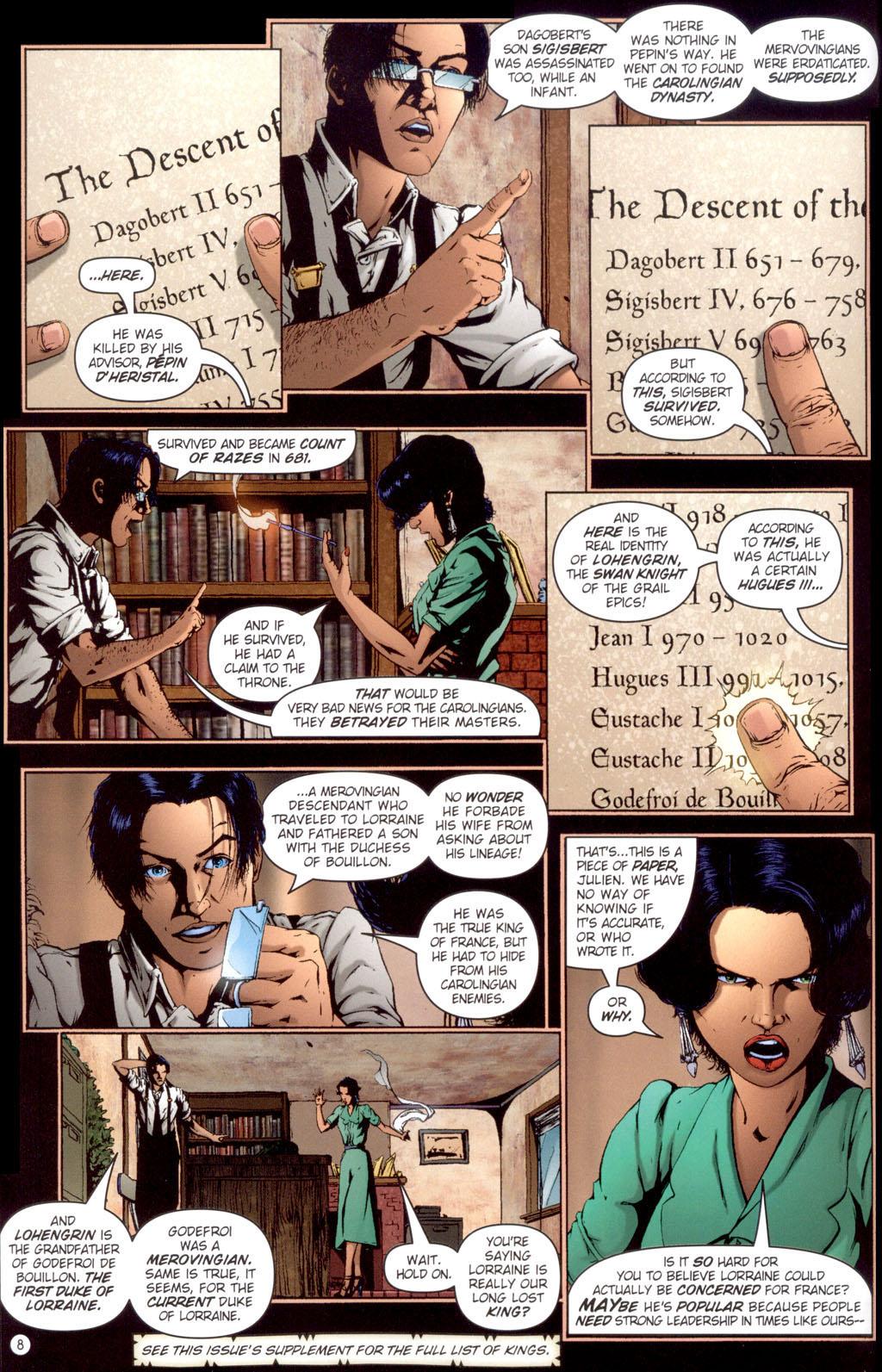 Read online Rex Mundi comic -  Issue #13 - 10