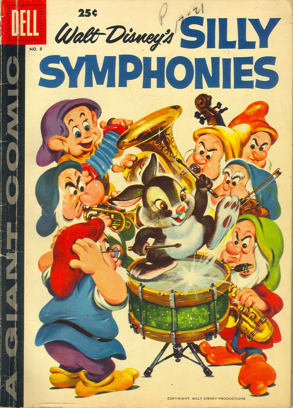 Walt Disney's Silly Symphonies issue 8 - Page 1