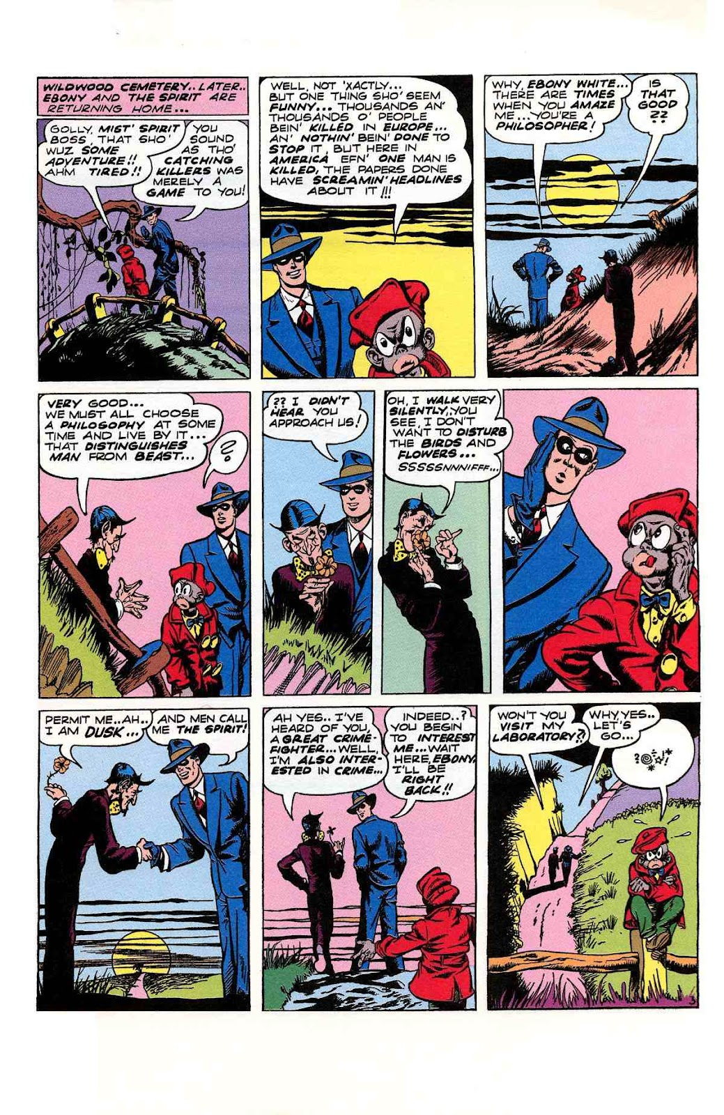 Read online Will Eisner's The Spirit Archives comic -  Issue # TPB 2 (Part 2) - 87