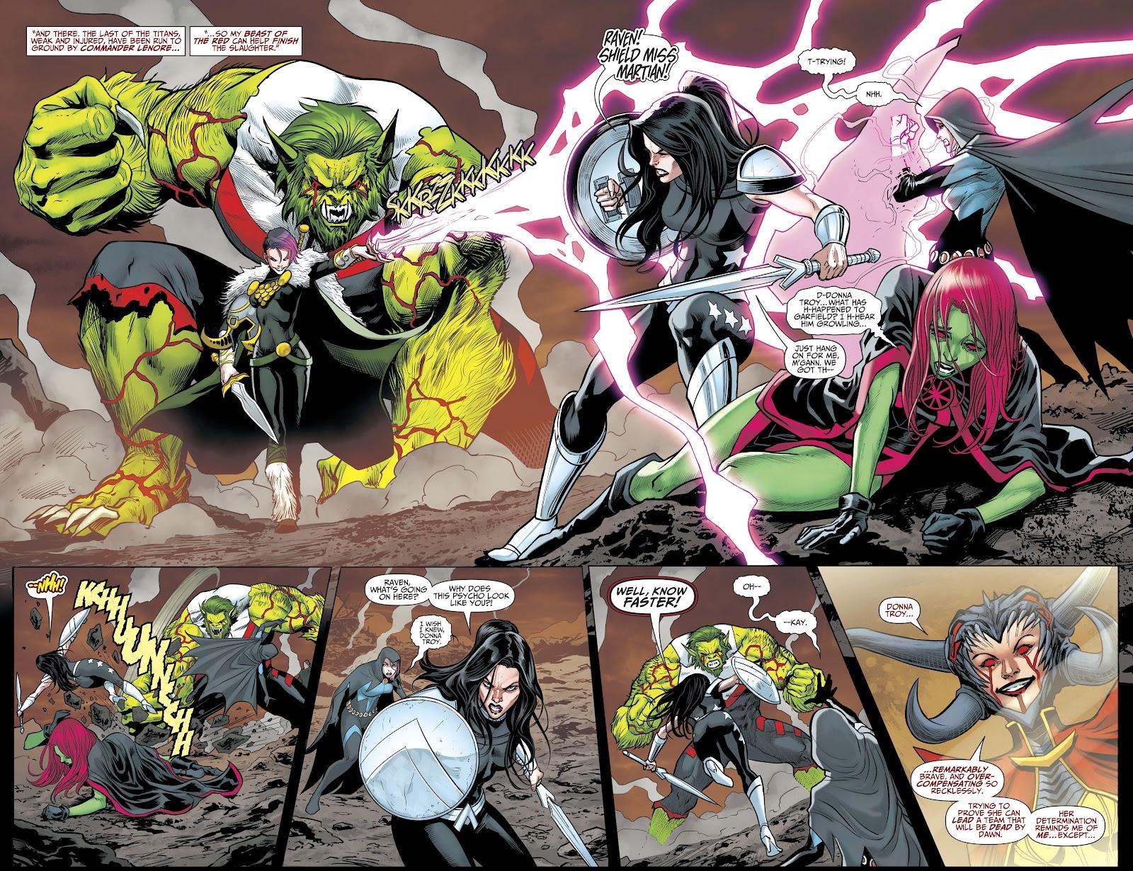 Read online Titans (2016) comic -  Issue #35 - 7