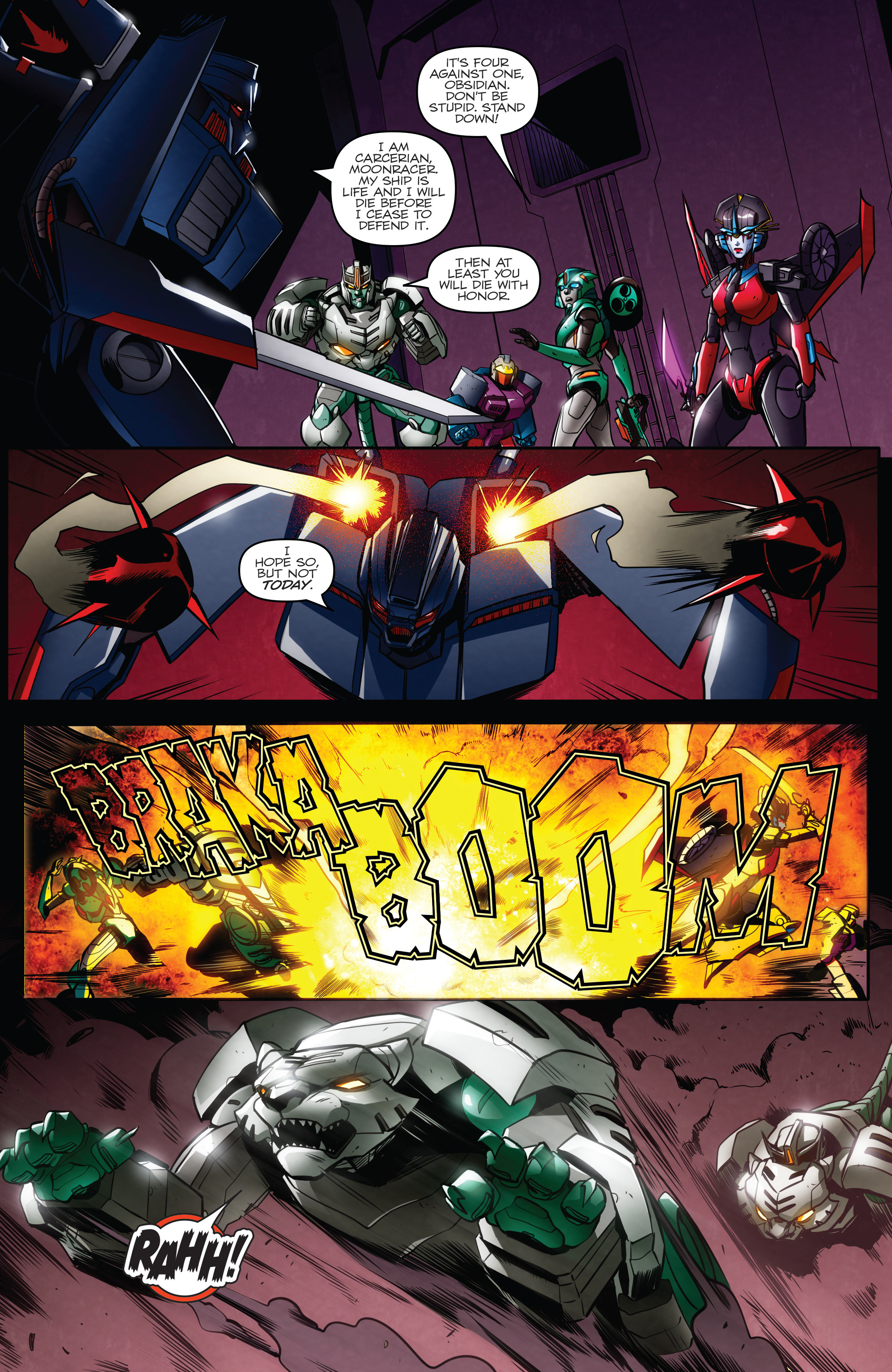 Read online Transformers: Till All Are One comic -  Issue #7 - 21
