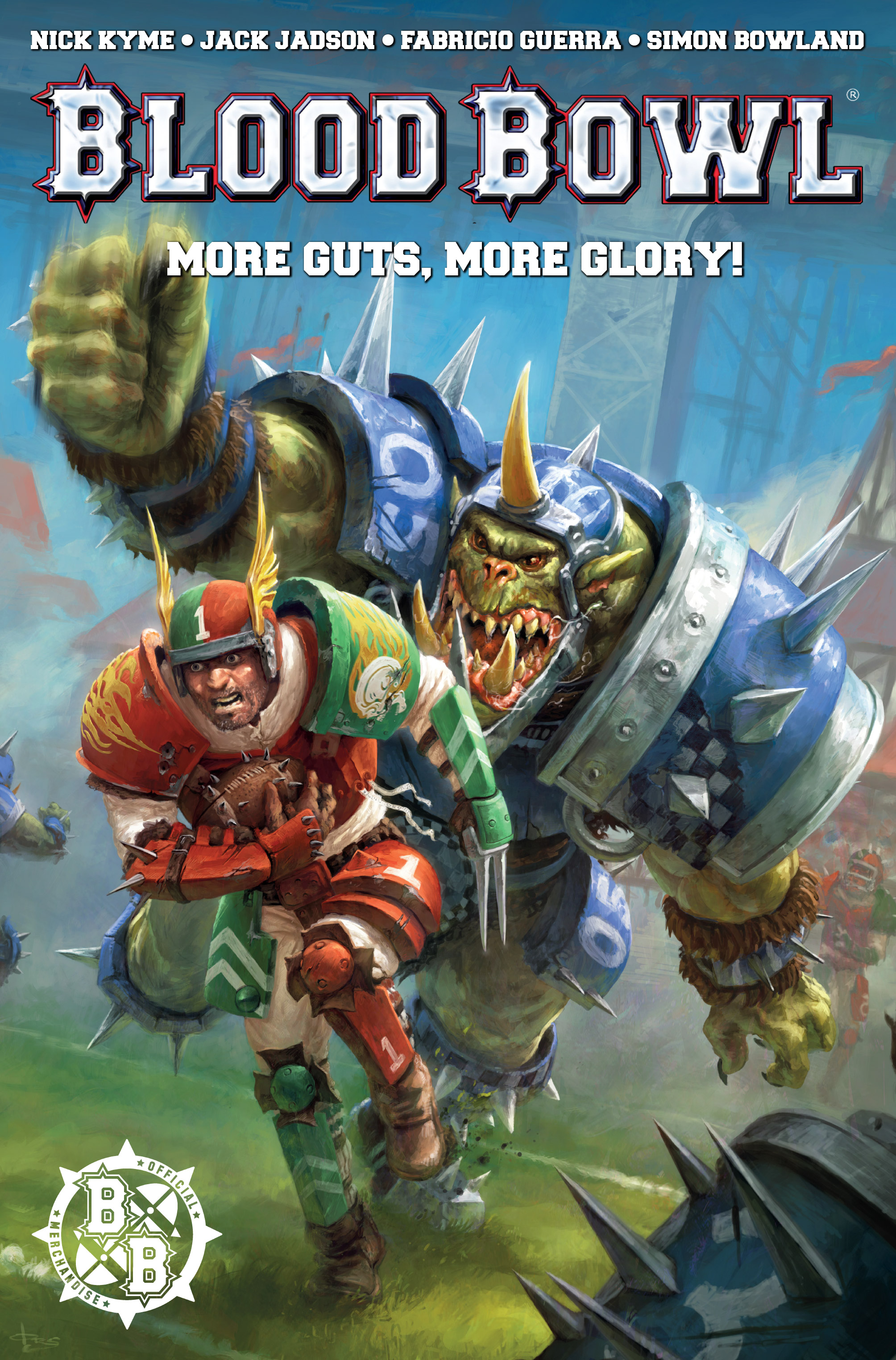 Read online Blood Bowl: More Guts, More Glory! comic -  Issue #1 - 1