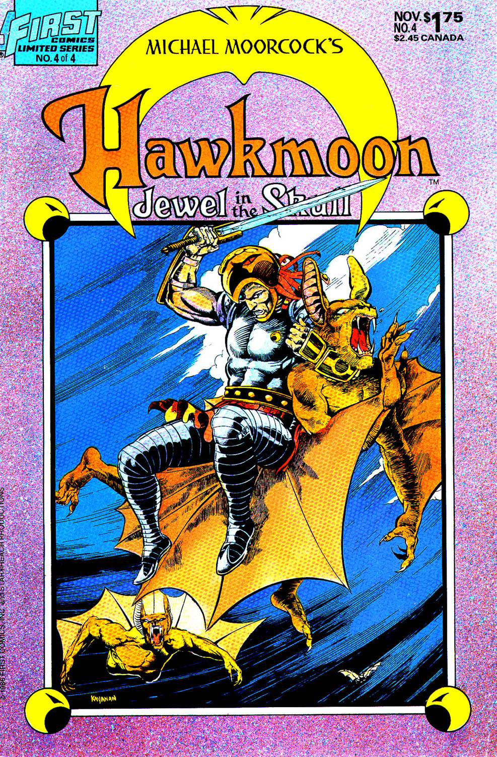 Read online Hawkmoon: The Jewel in the Skull comic -  Issue #4 - 1