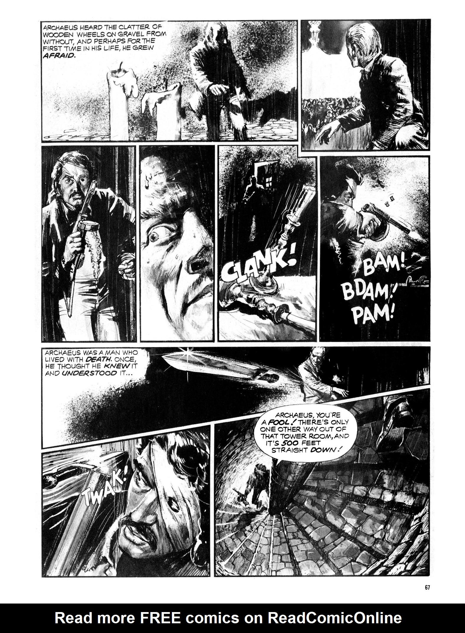 Read online Eerie Archives comic -  Issue # TPB 13 - 68