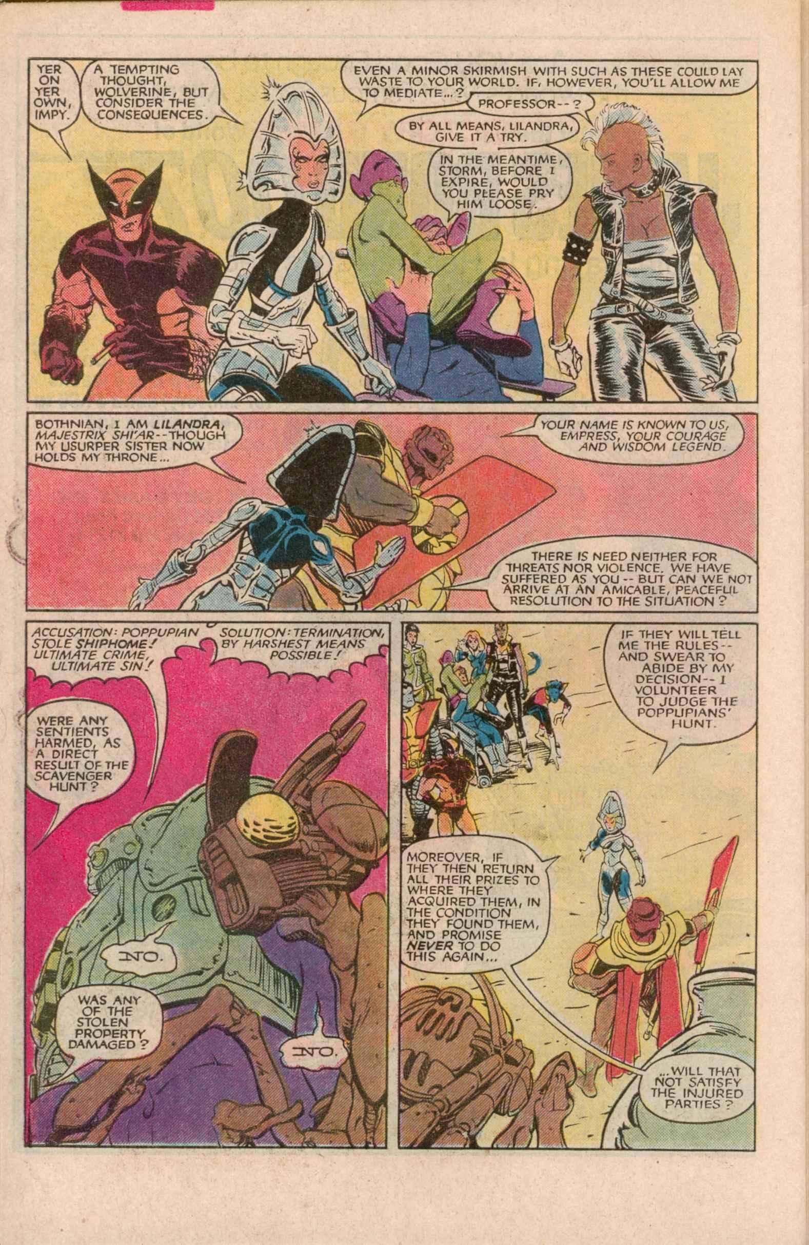 Read online Uncanny X-Men (1963) comic -  Issue # _Annual 7 - 38