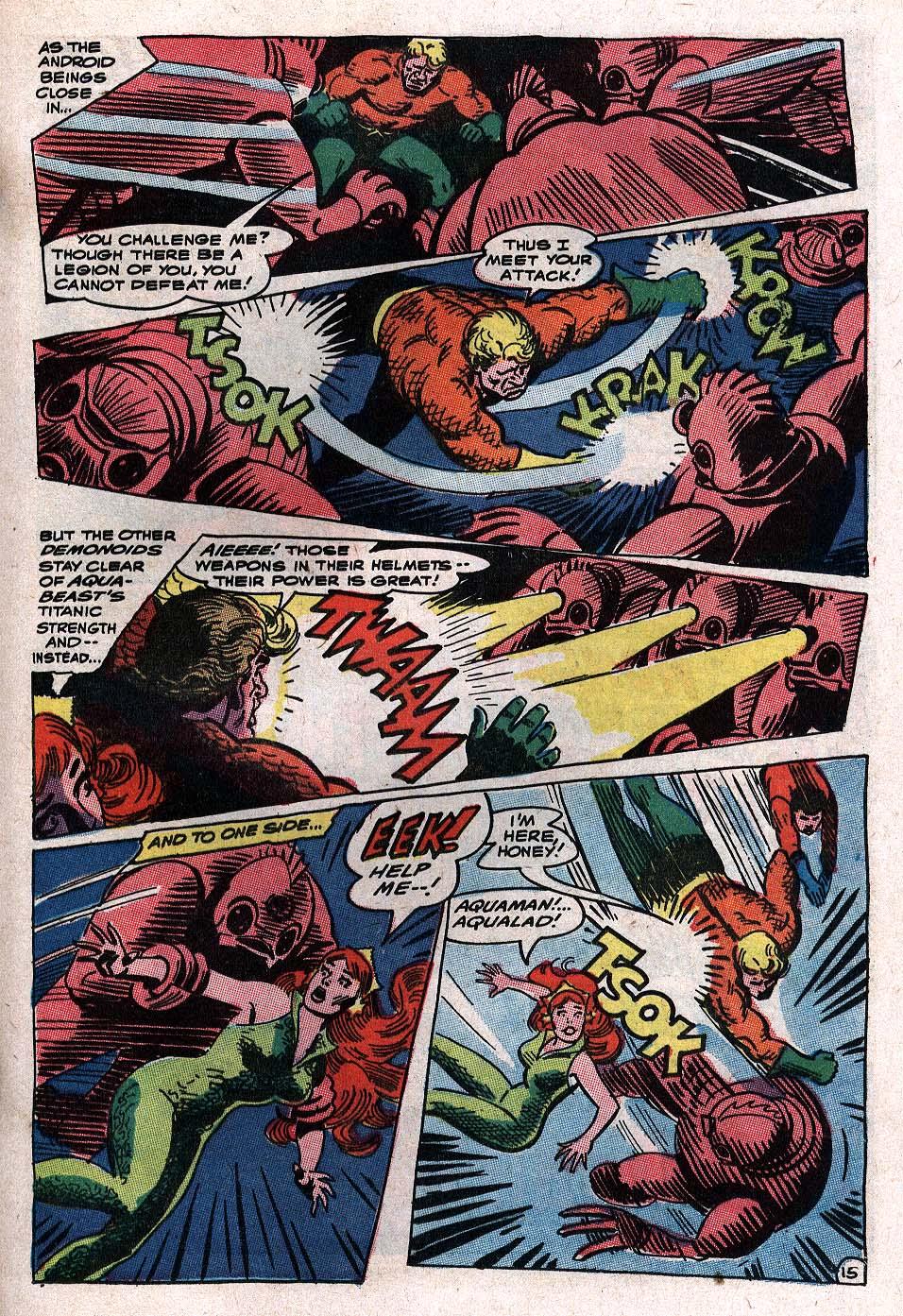 Read online Aquaman (1962) comic -  Issue #34 - 21