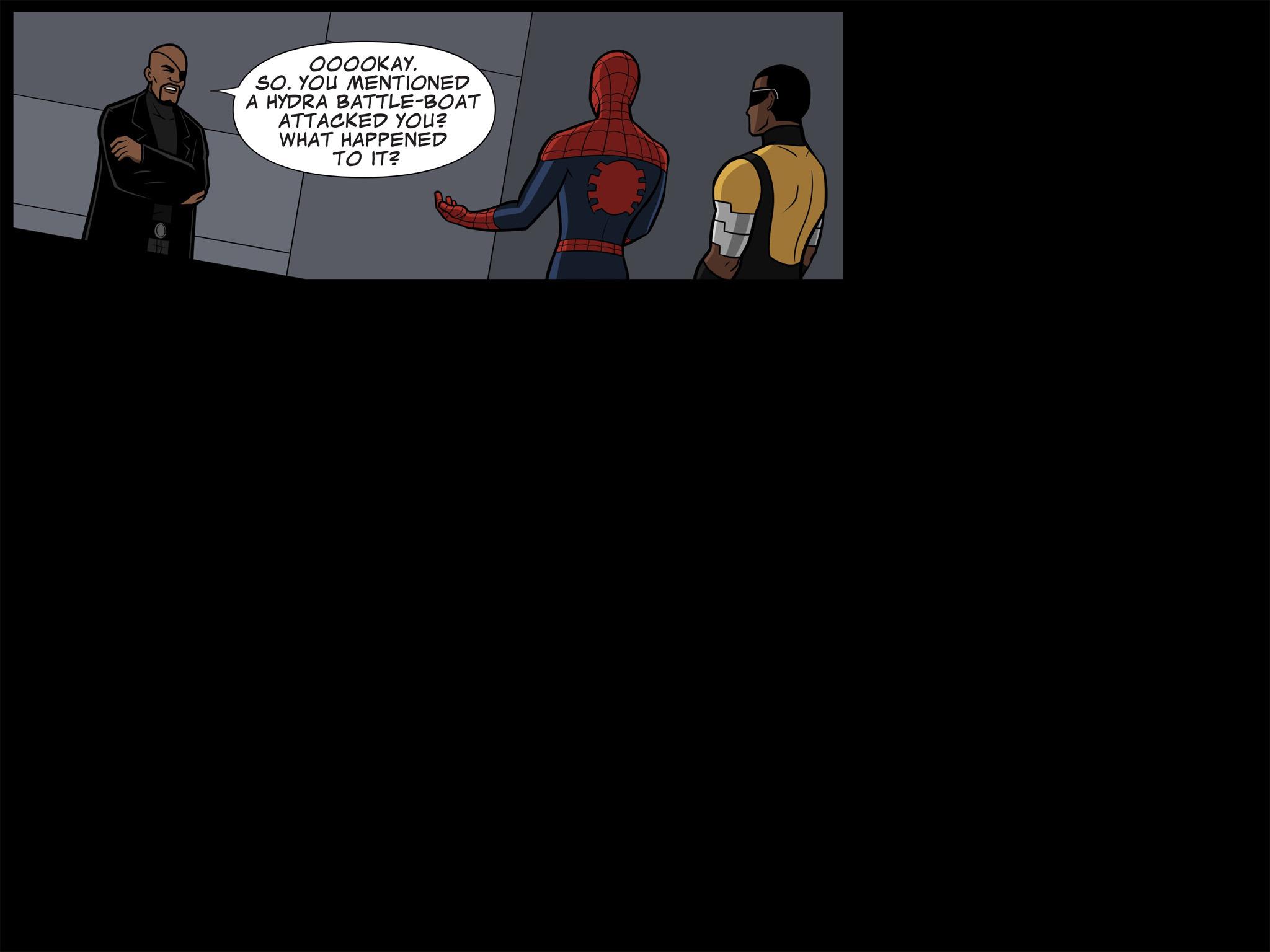 Read online Ultimate Spider-Man (Infinite Comics) (2015) comic -  Issue #11 - 35