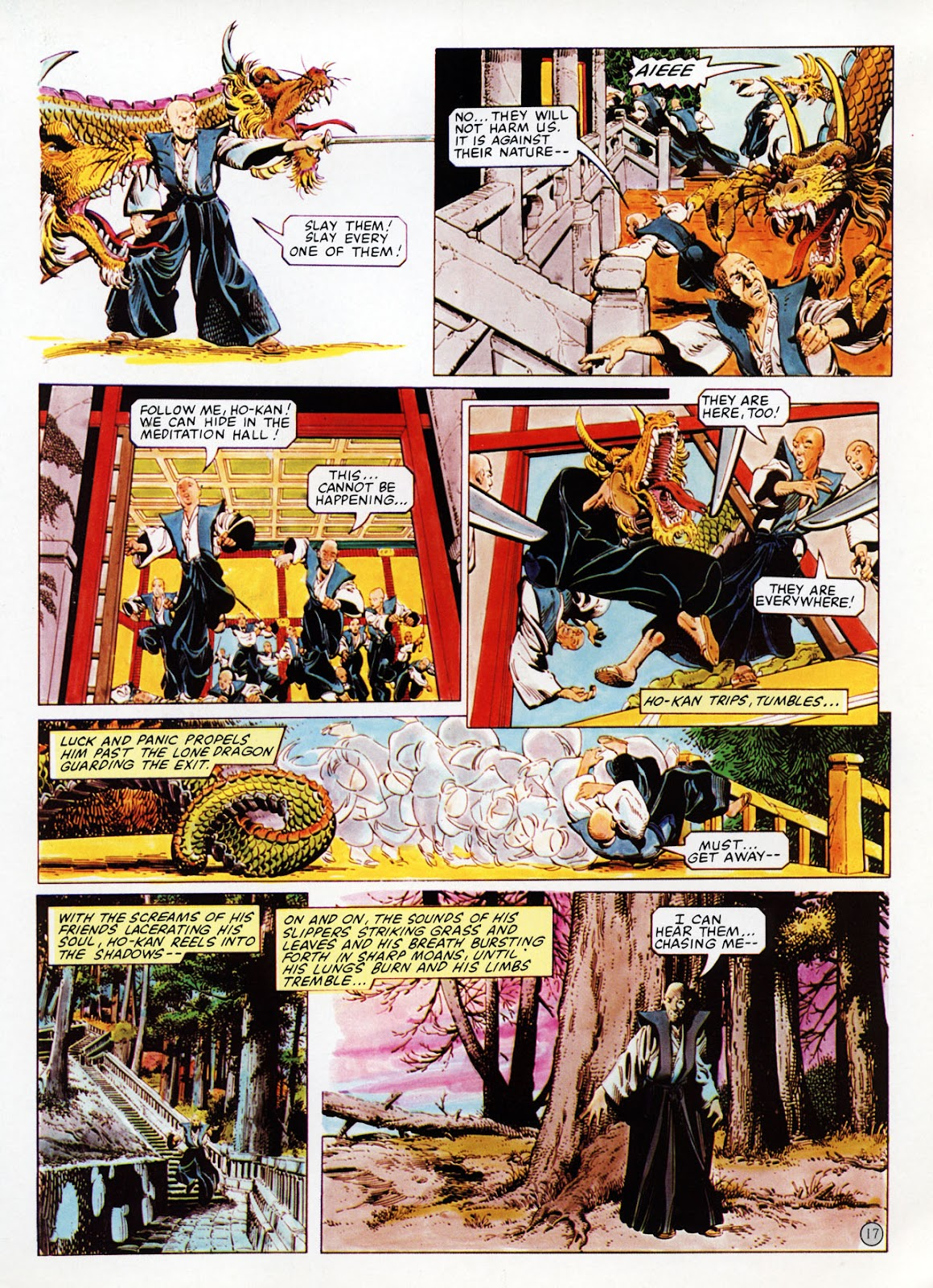 Read online Epic Graphic Novel: Last of the Dragons comic -  Issue # Full - 18