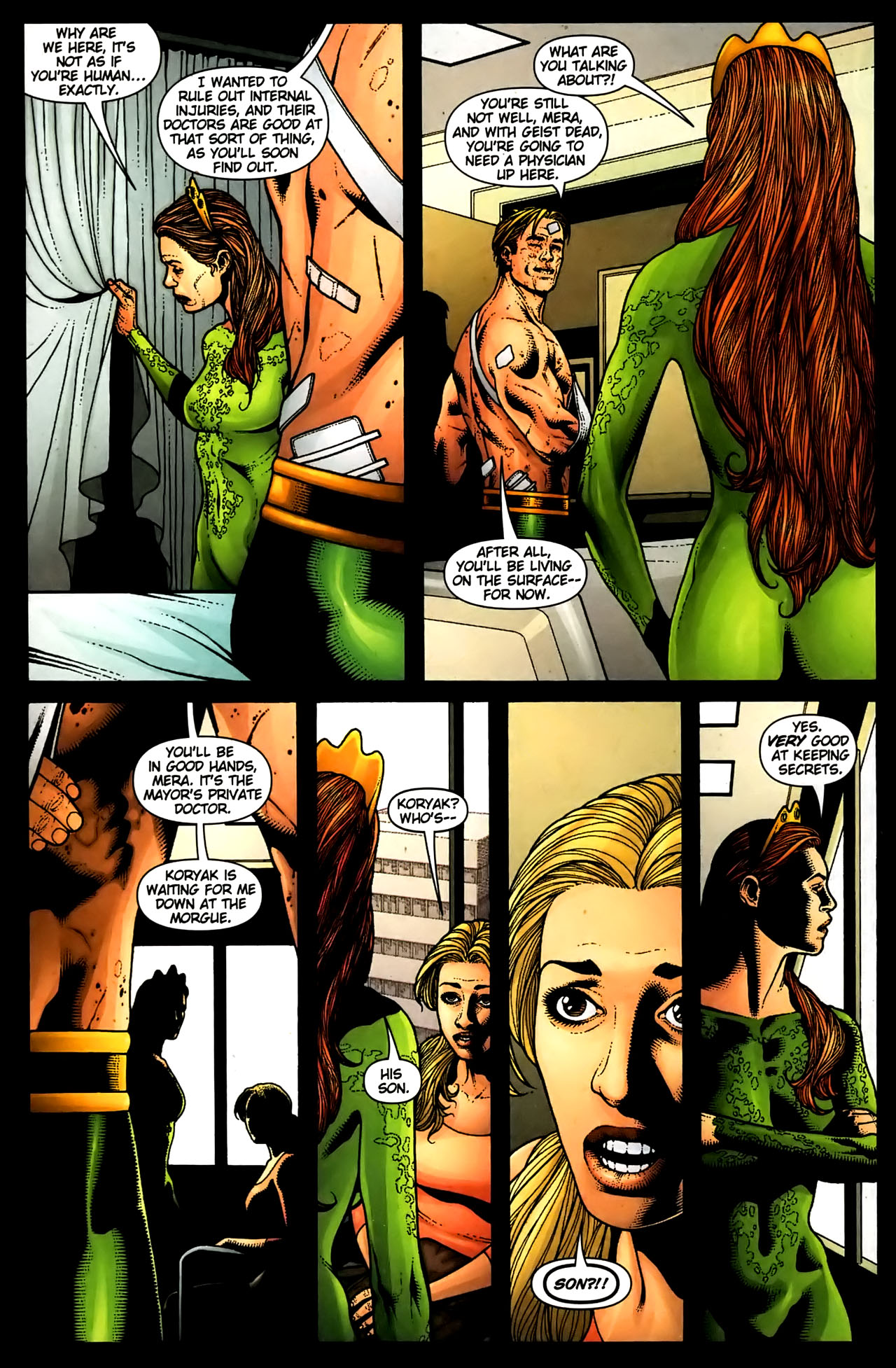 Read online Aquaman (2003) comic -  Issue #36 - 6