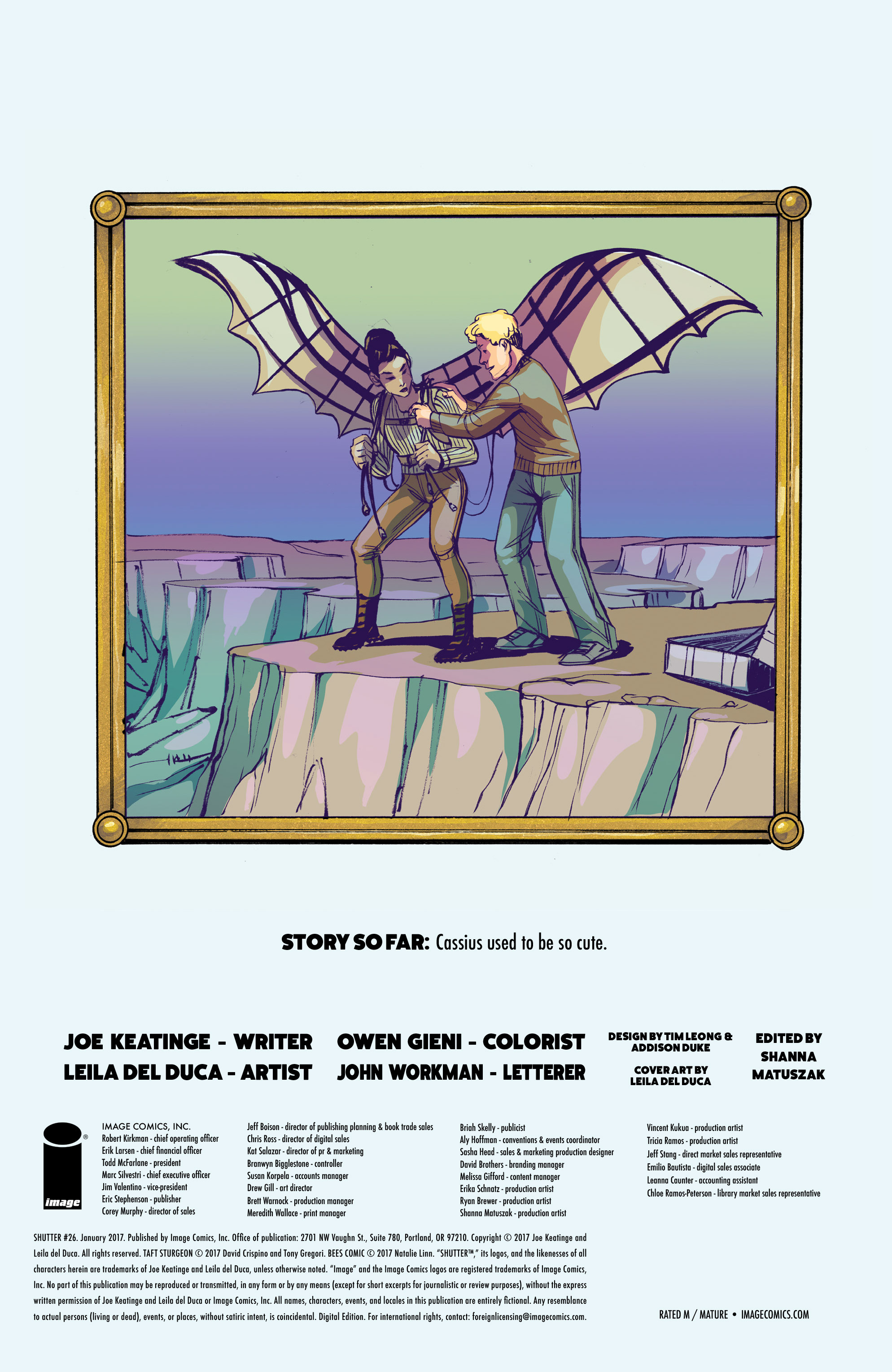Read online Shutter comic -  Issue #26 - 31